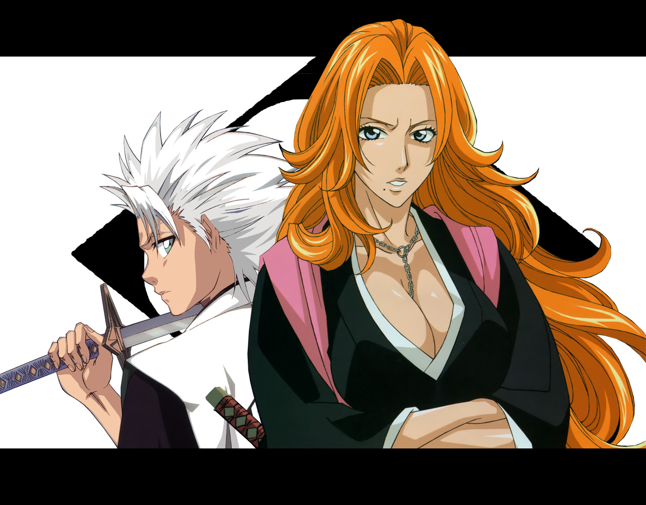 Anime bleach Matsumoto rangiku HD Wallpaper
