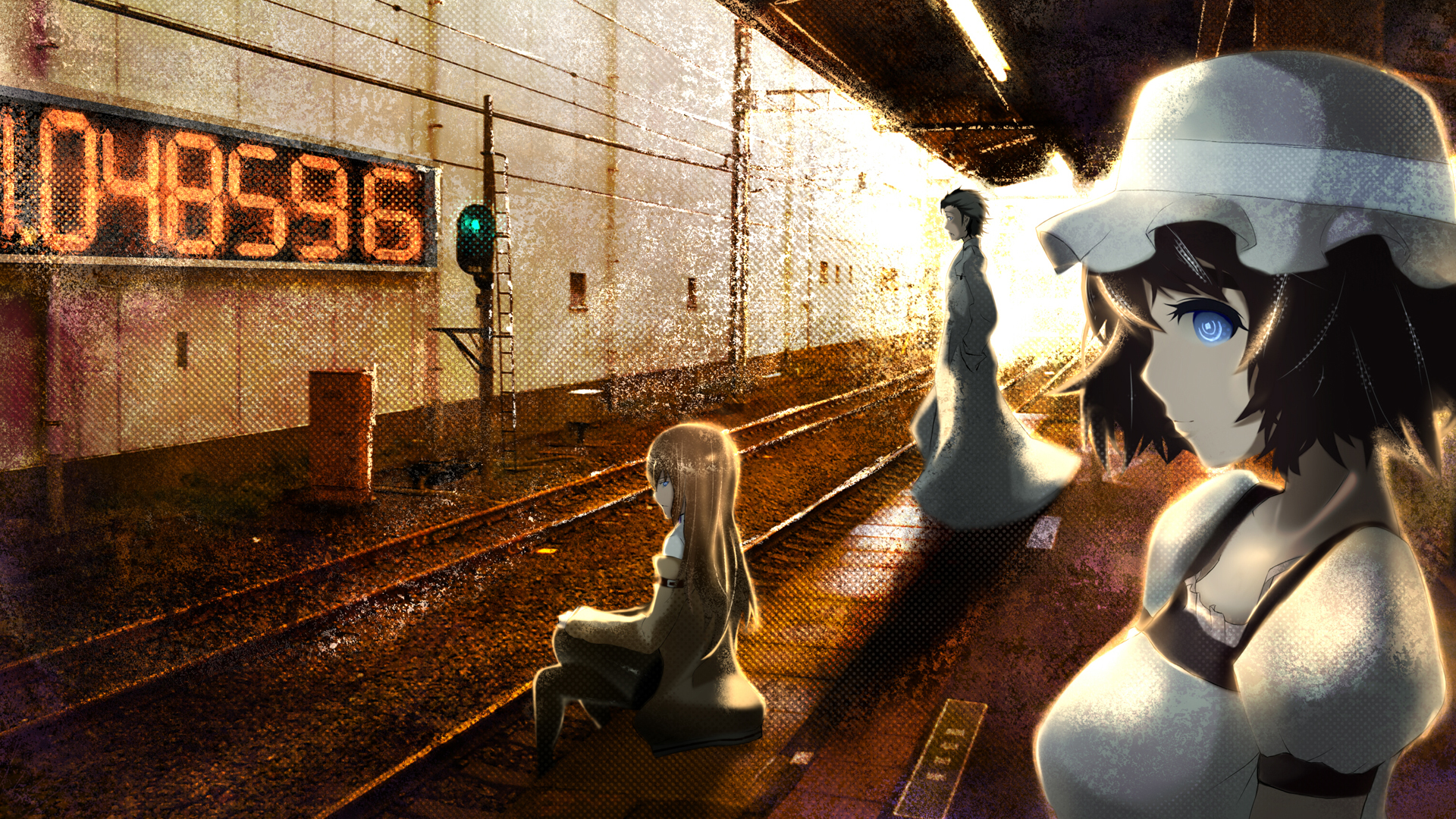 anime boys steins gate HD Wallpaper
