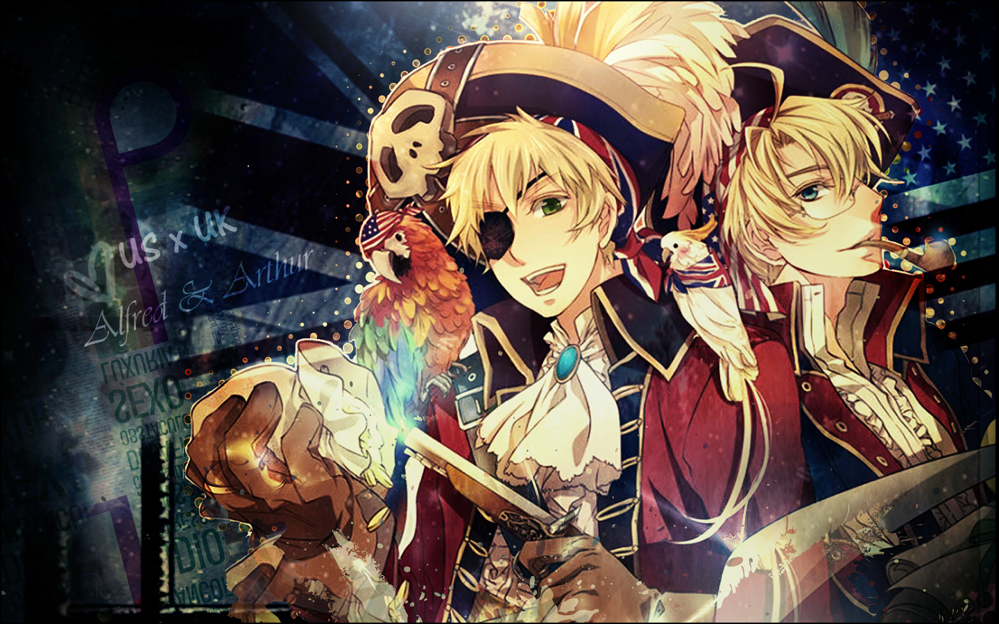 Anime England Birds pirates HD Wallpaper
