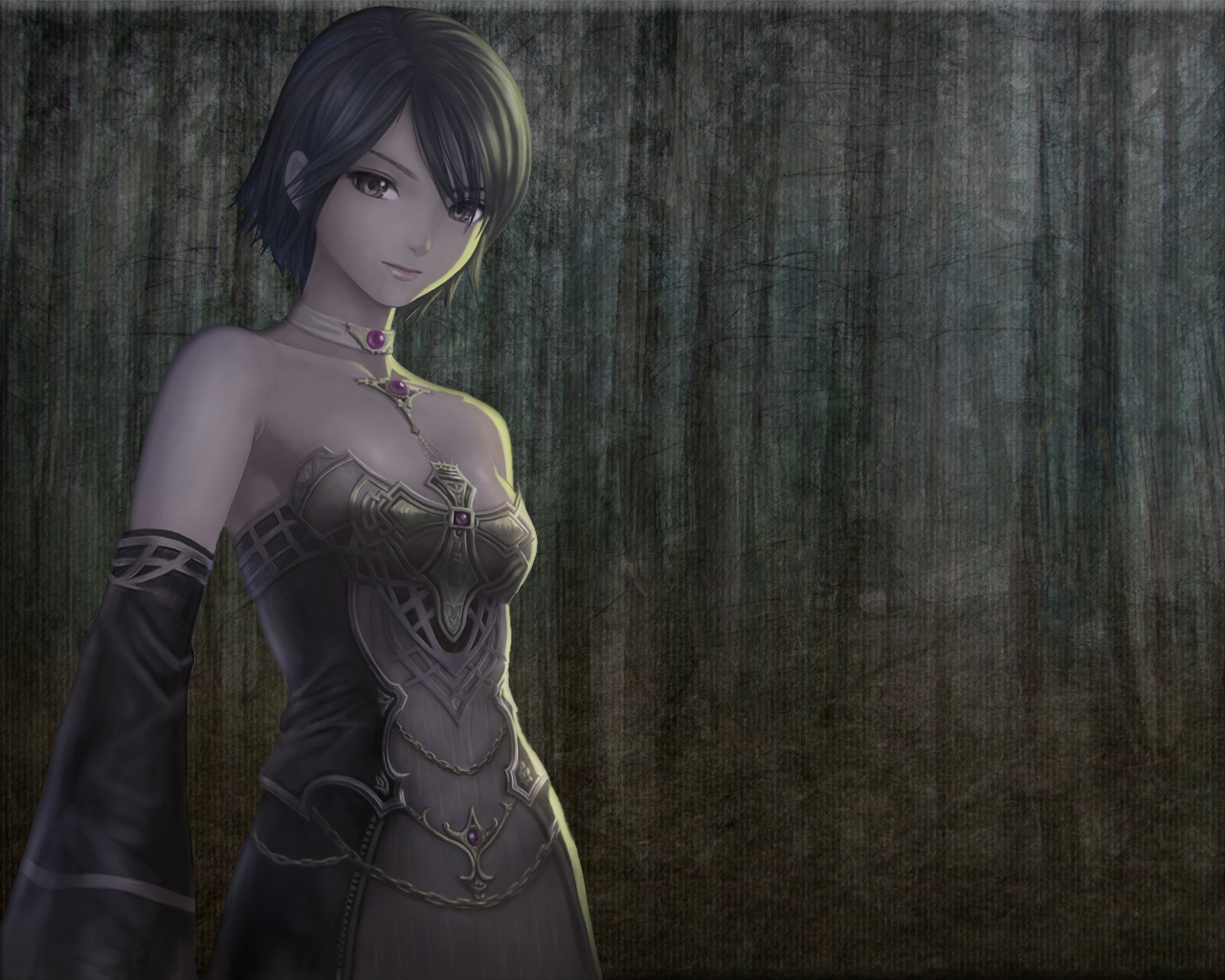 Anime gothic dress soft HD Wallpaper