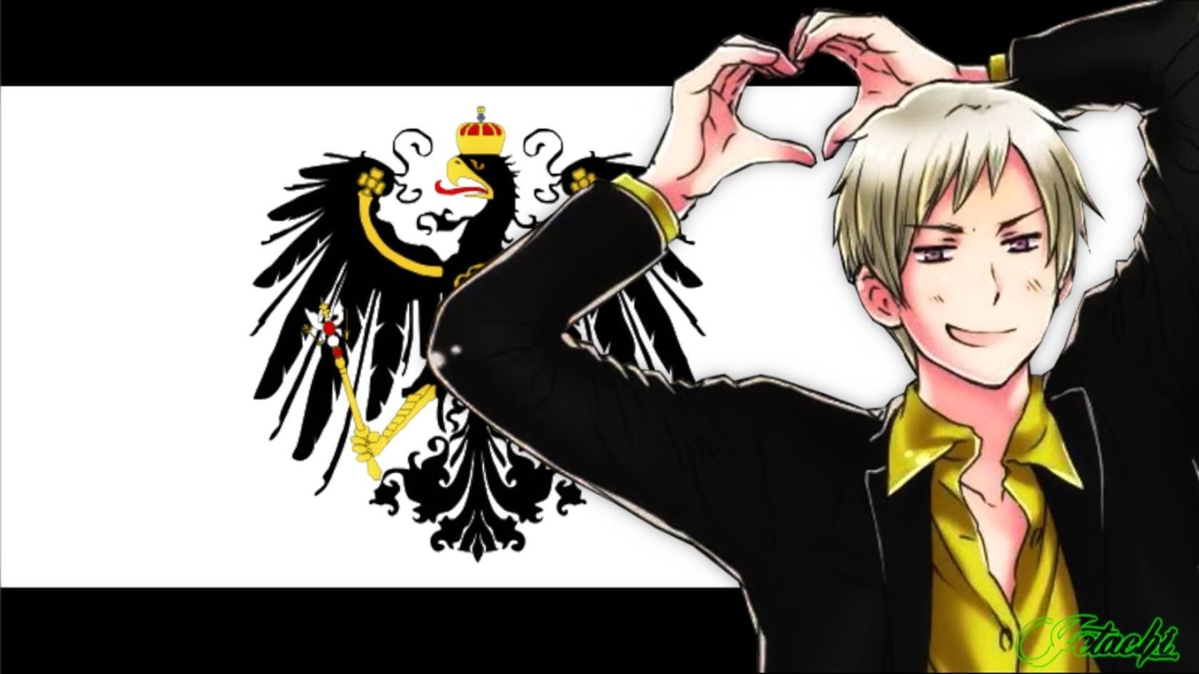 Anime Prussia axis powers HD Wallpaper
