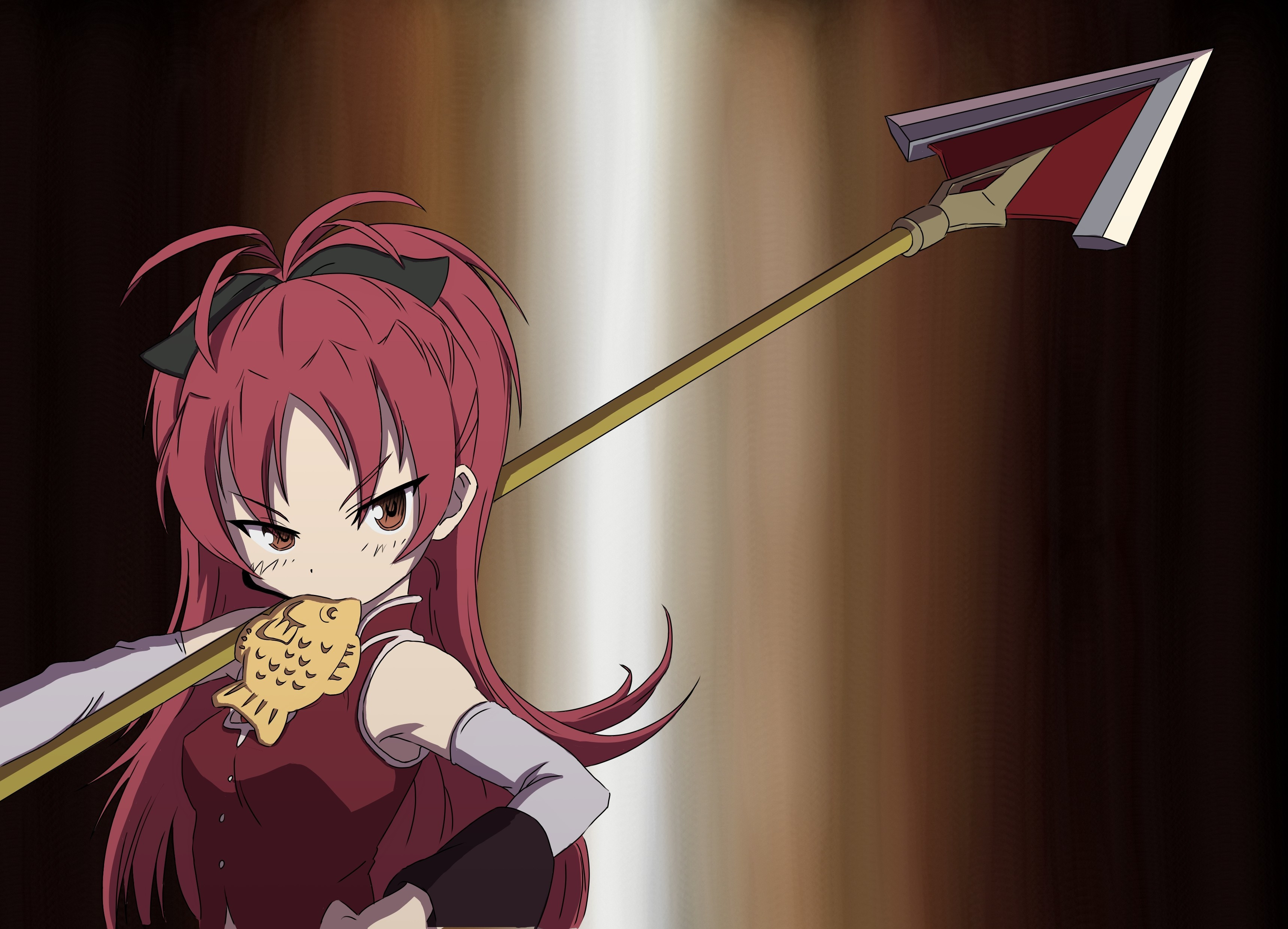 Anime spears ponytails anime HD Wallpaper