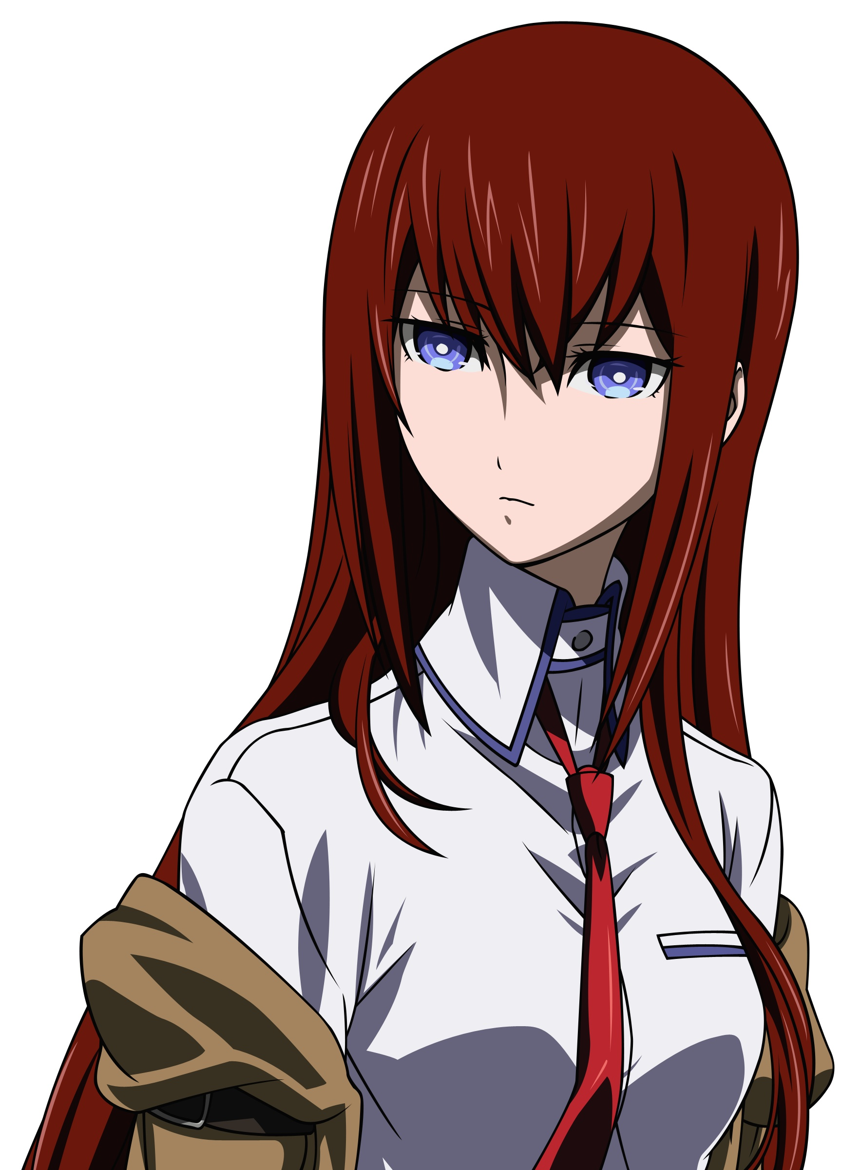 anime vectors makise kurisu HD Wallpaper