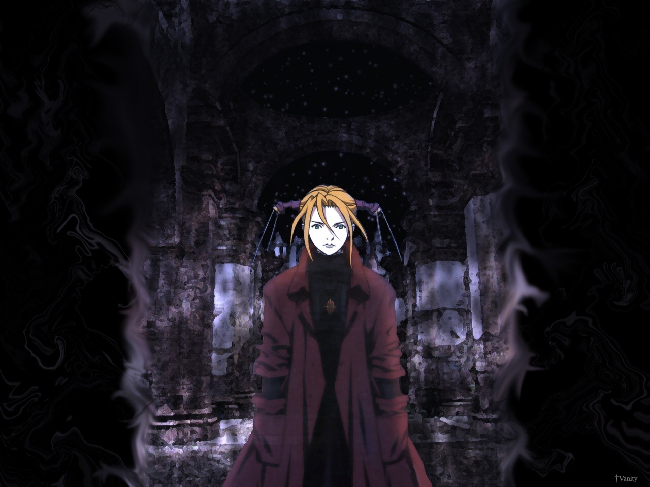 Anime witch hunter robin HD Wallpaper
