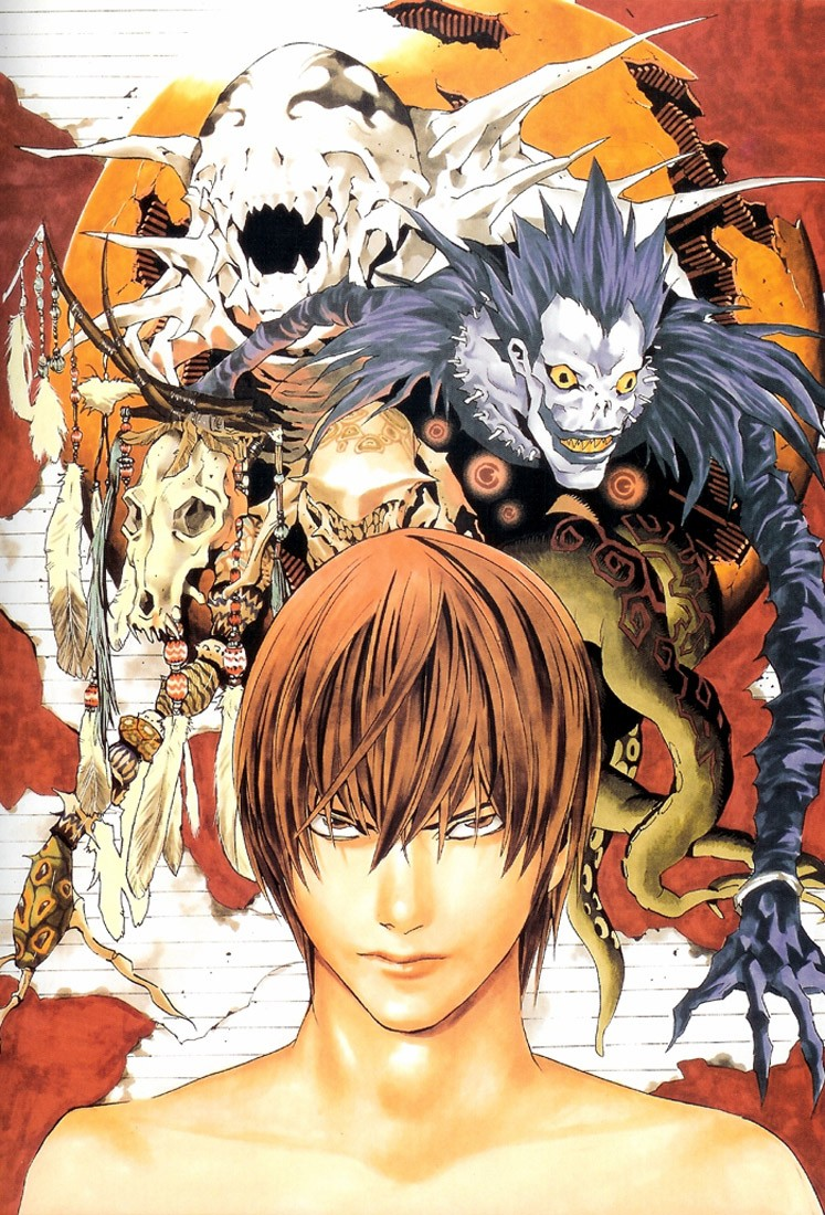 Anime Yagami Light ryuk