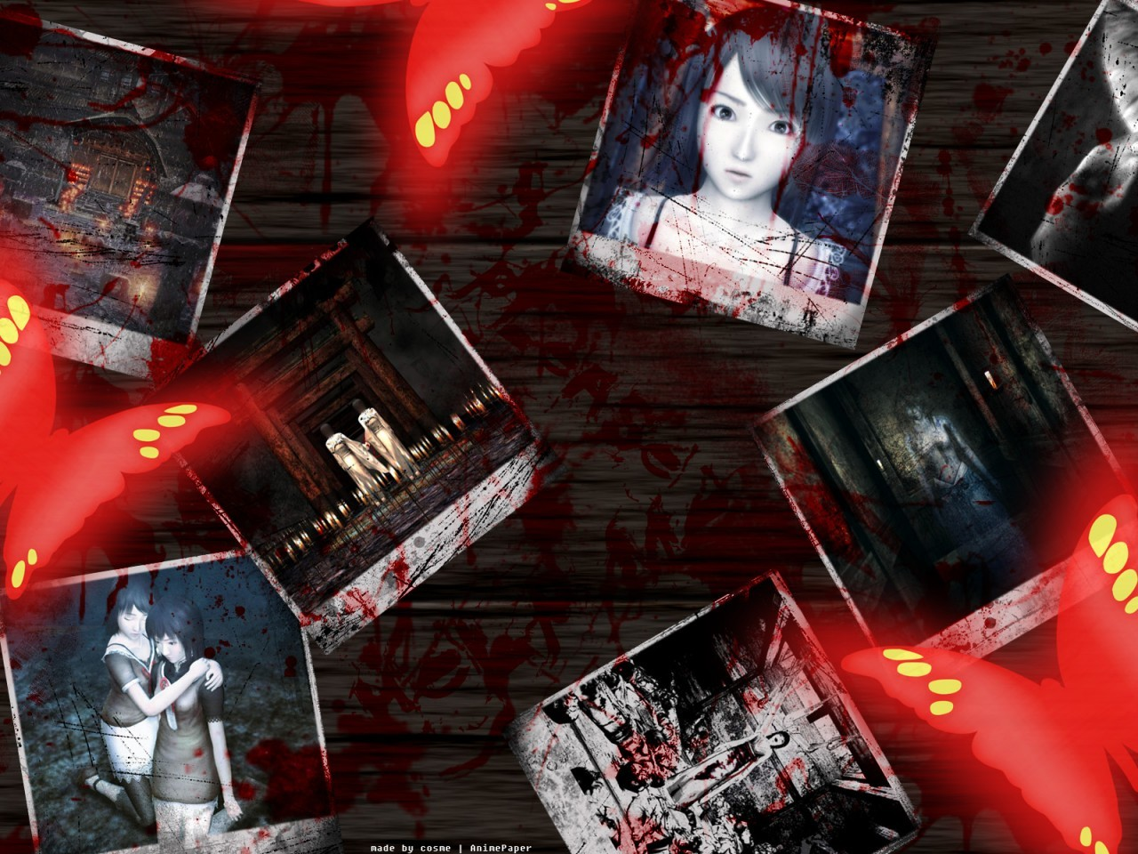 animepaper fatal frame cosme HD Wallpaper