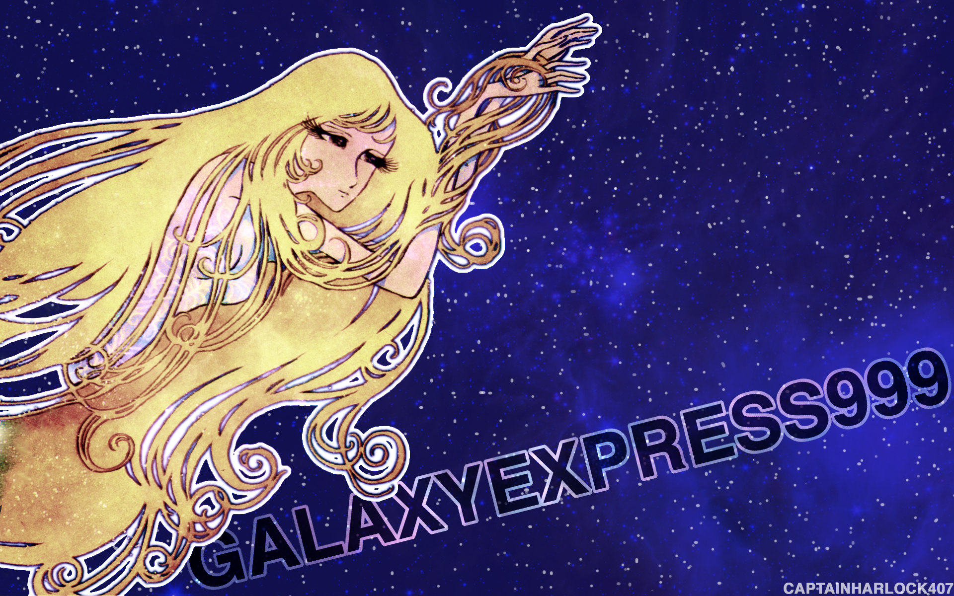 animepaper galaxy express any HD Wallpaper