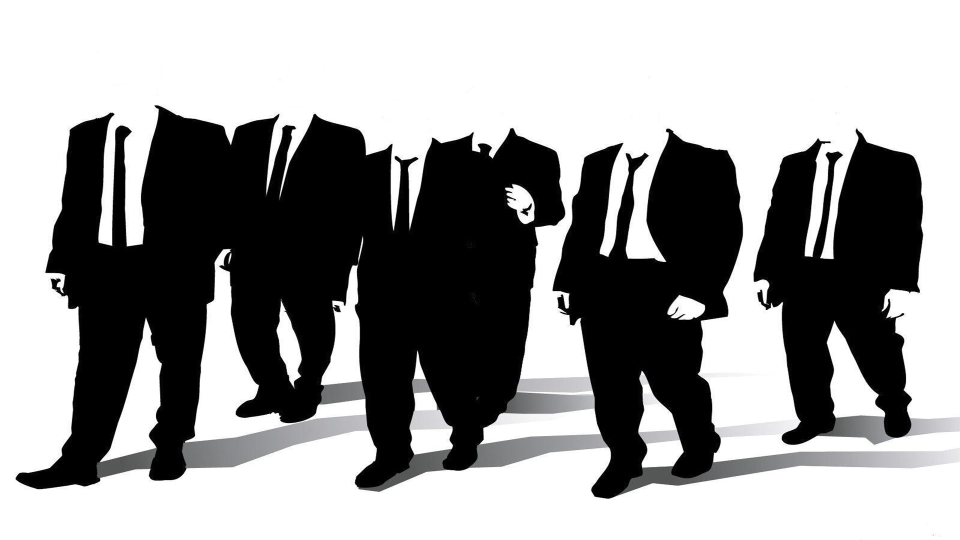 Anonymous Reservoir Dogs monochrome HD Wallpaper