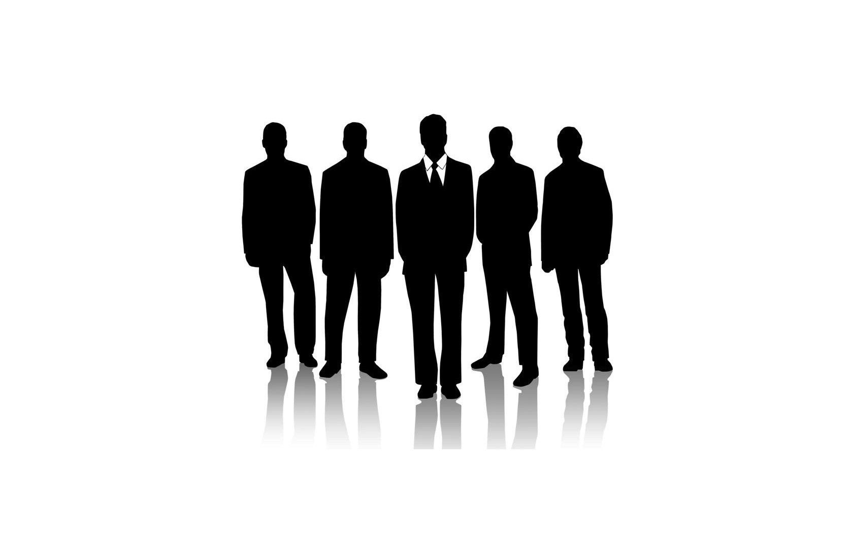 Anonymous suit silhouettes Business HD Wallpaper