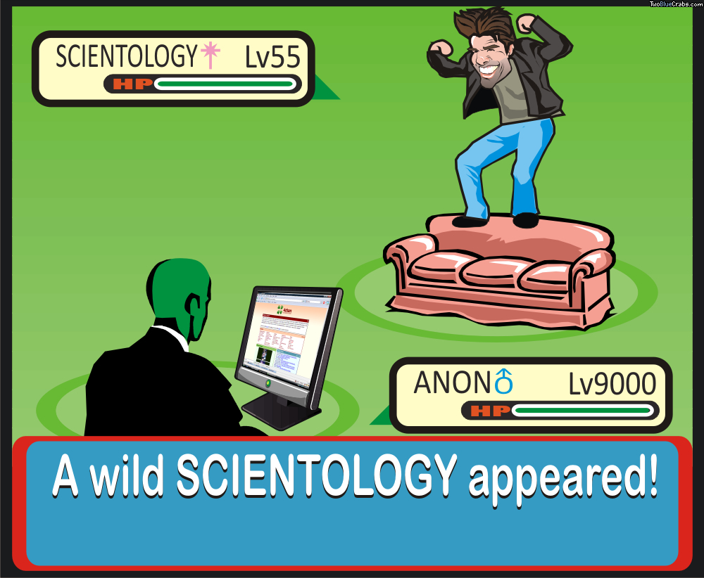 Anonymous Wild scientology appeared HD Wallpaper
