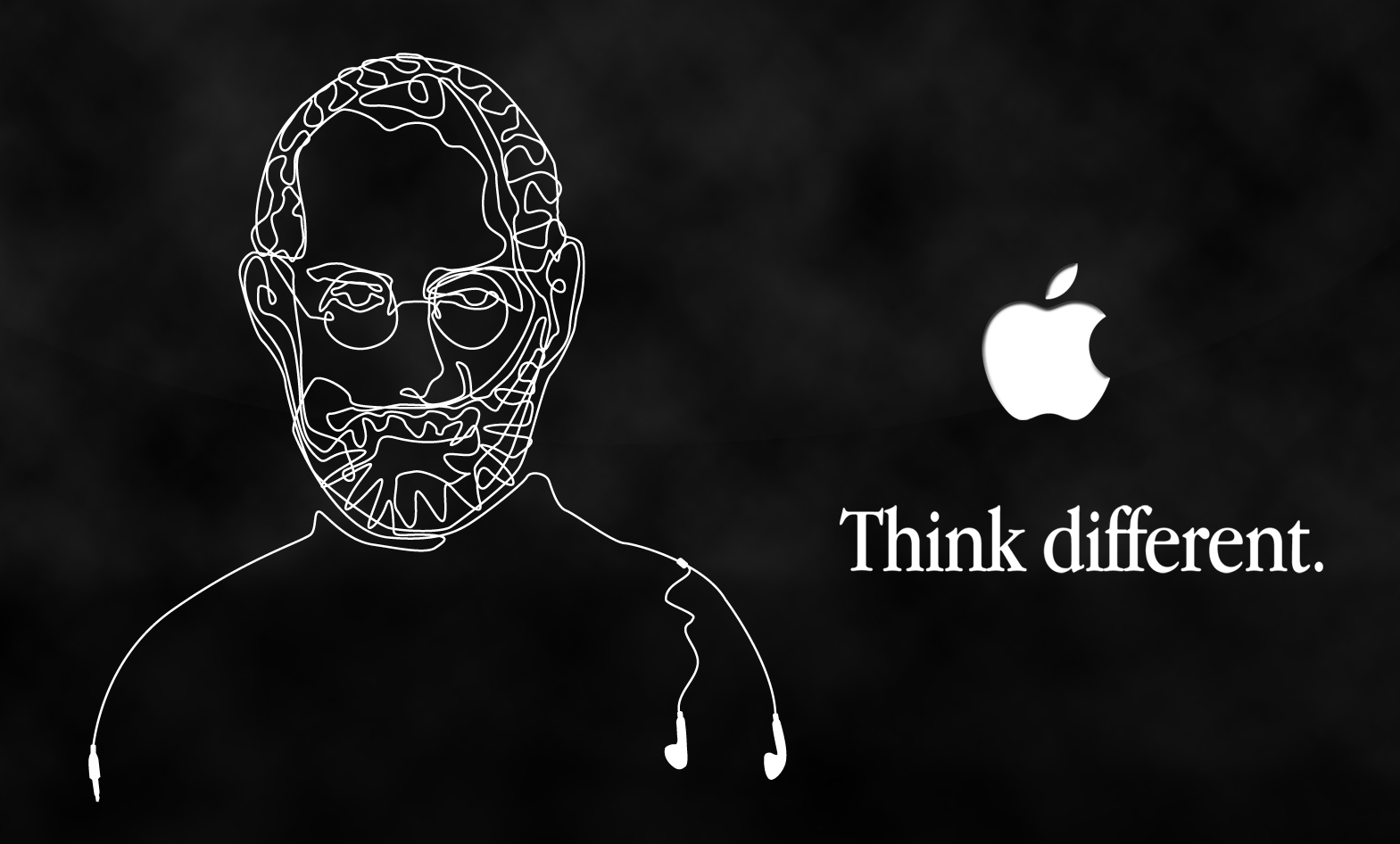 apple inc monochrome Steve HD Wallpaper