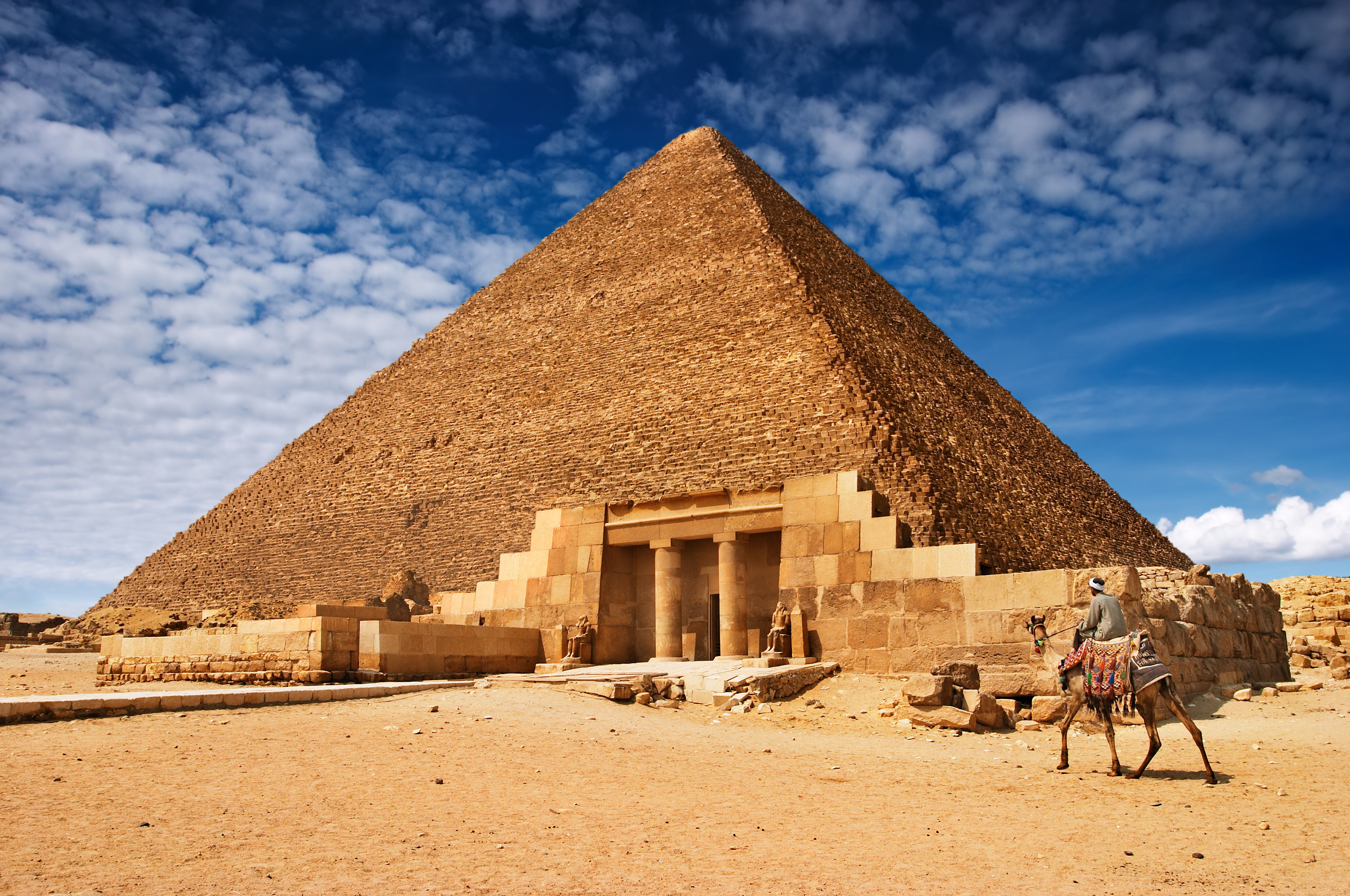 architecture buildings Egypt pyramids HD Wallpaper