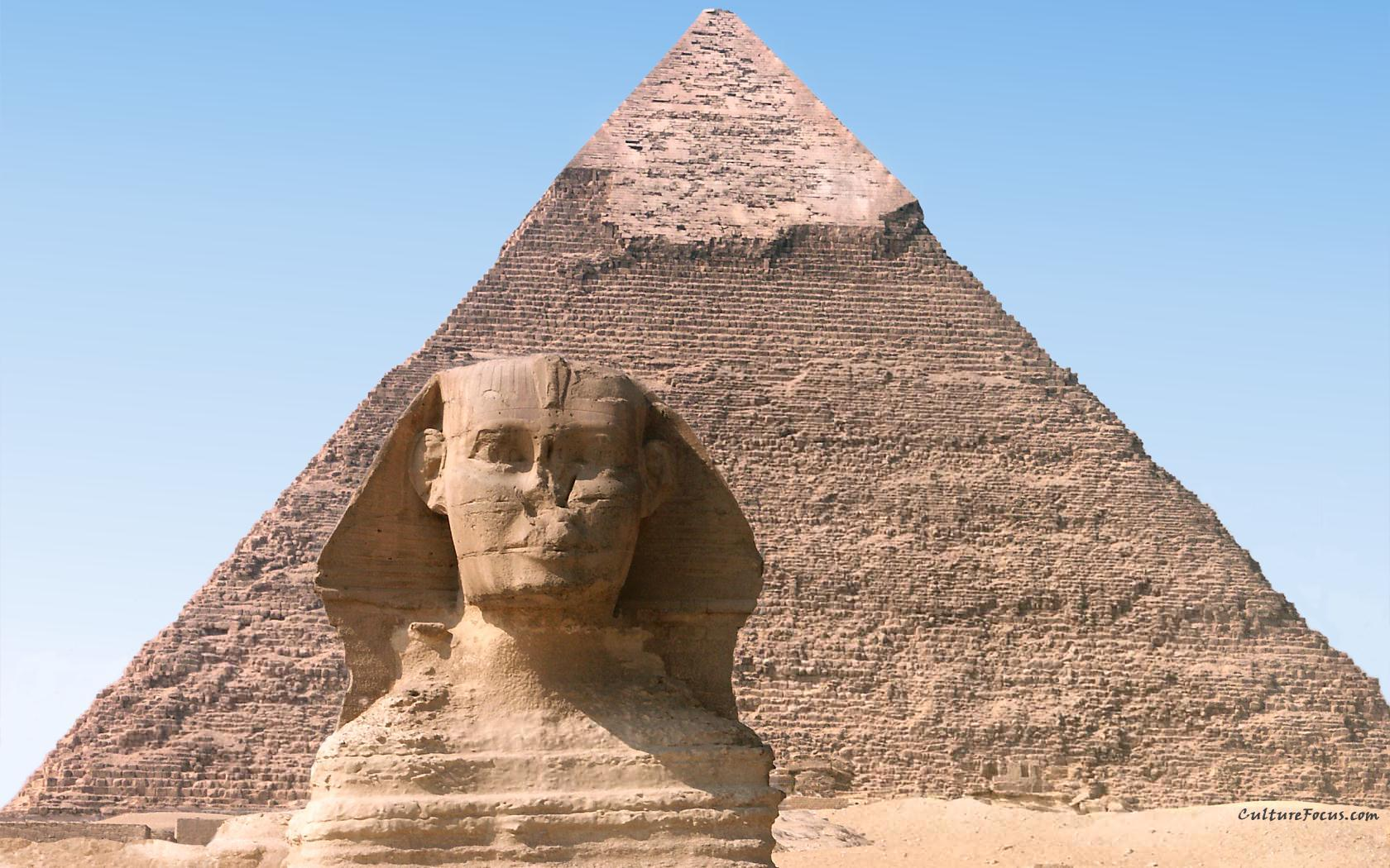 architecture buildings Egypt sphinx