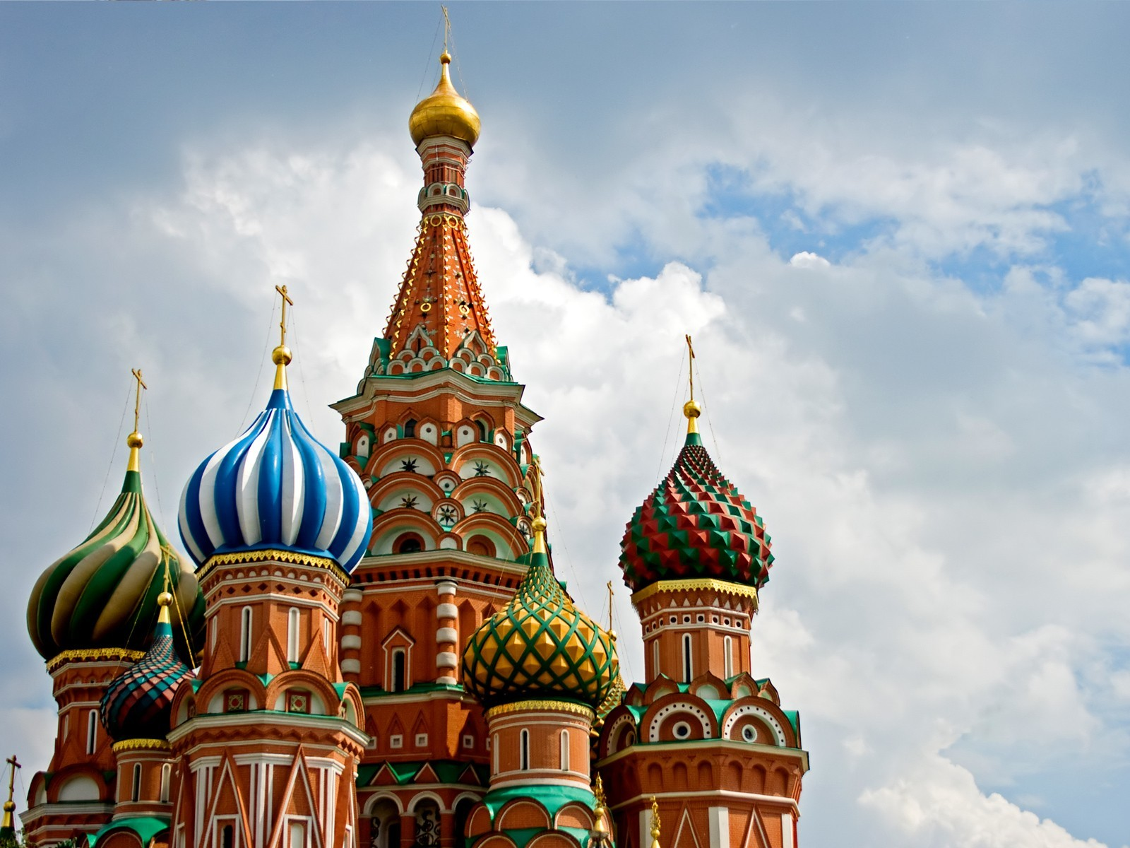 architecture buildings religion Moscow HD Wallpaper