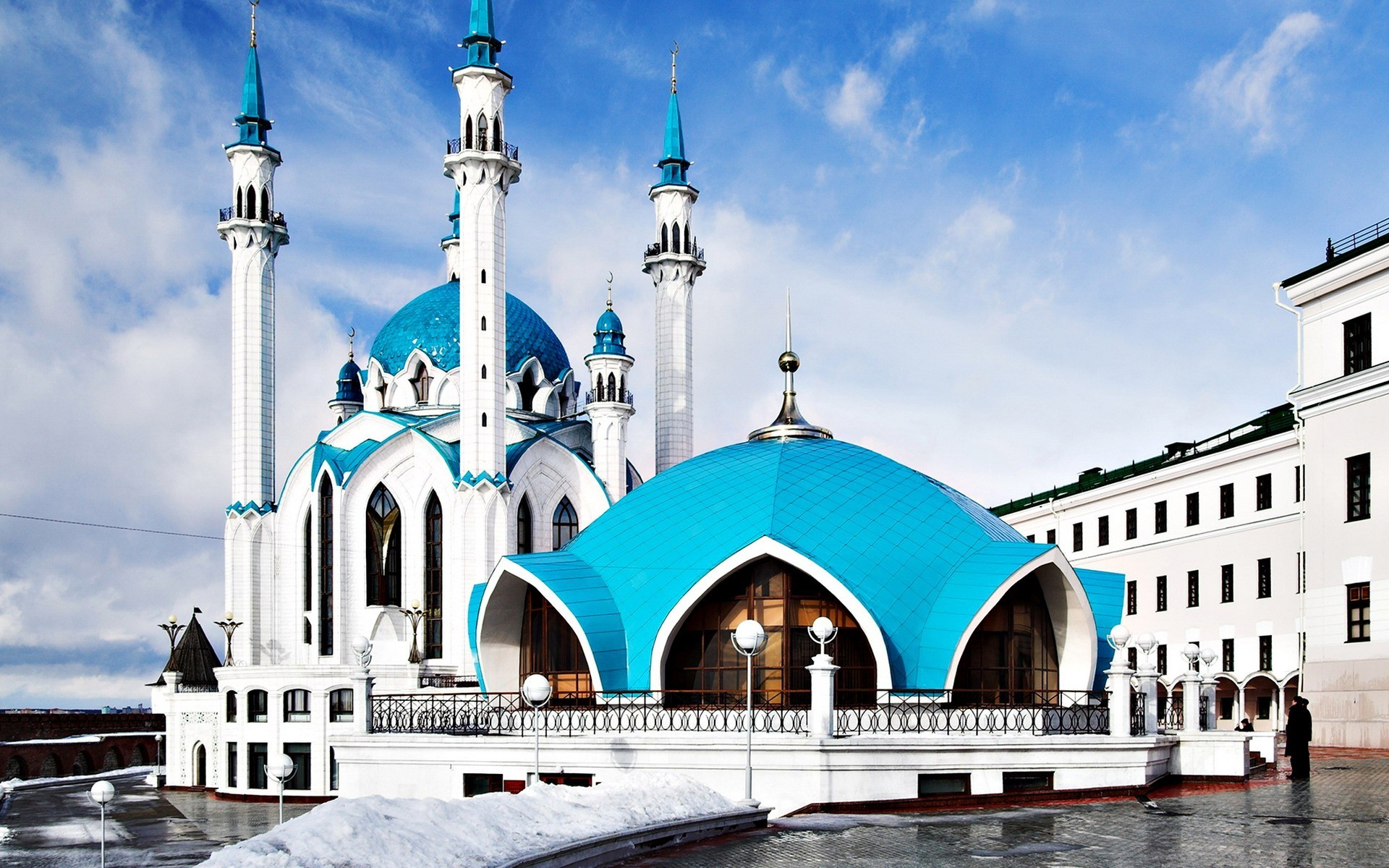 architecture mosques HD Wallpaper