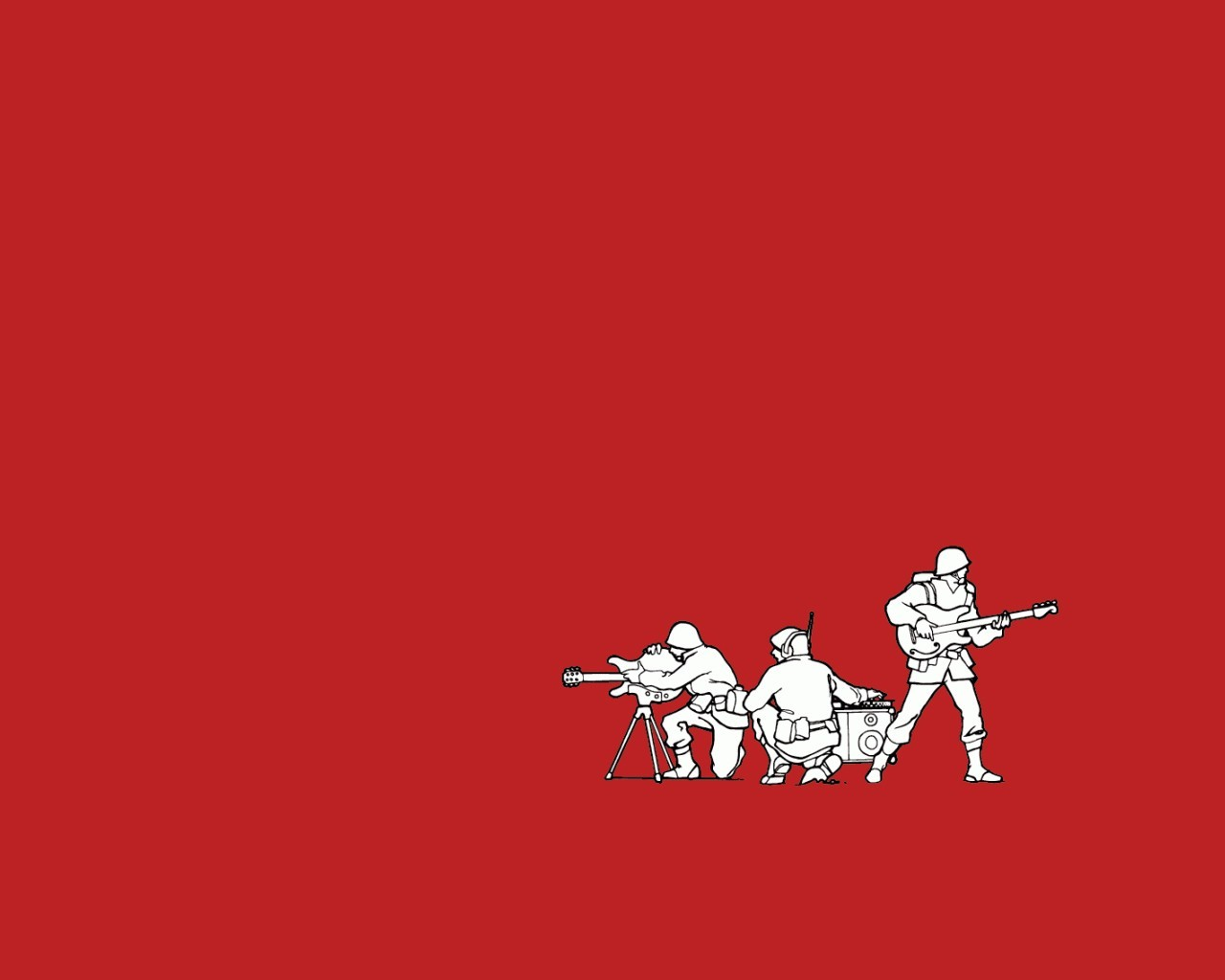 Army funny Threadless instruments HD Wallpaper