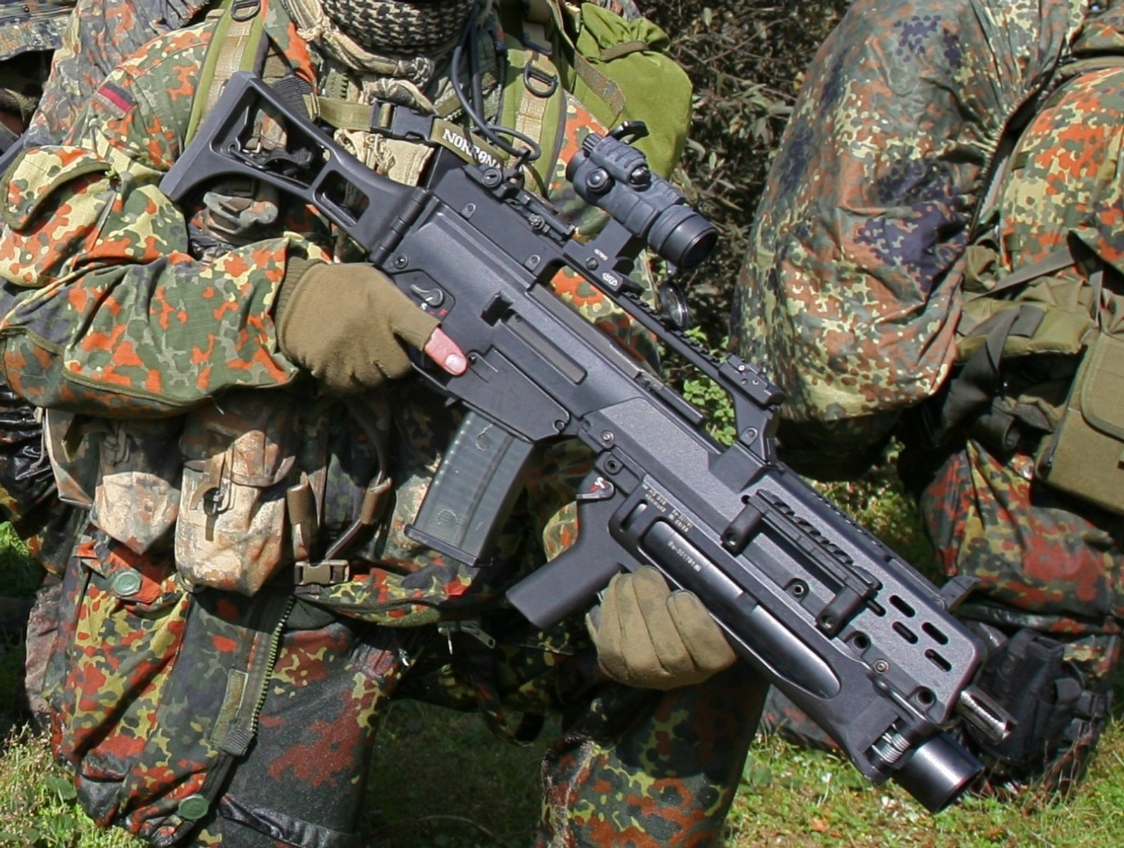 Army G36 Bundeswehr German HD Wallpaper