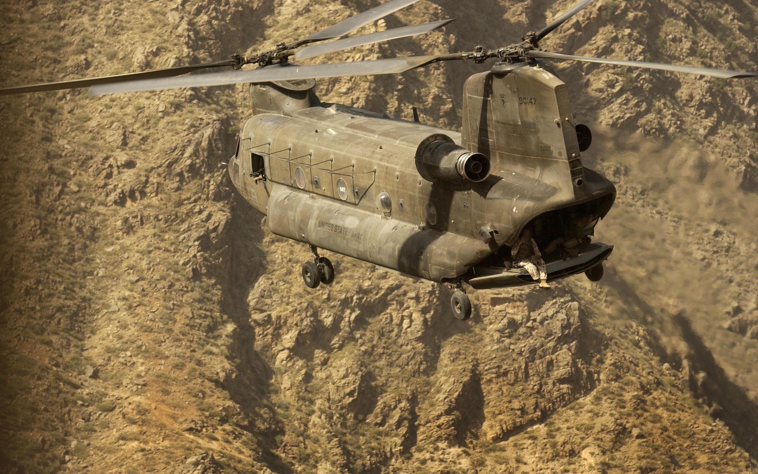Army Helicopters vehicles CH-47 HD Wallpaper