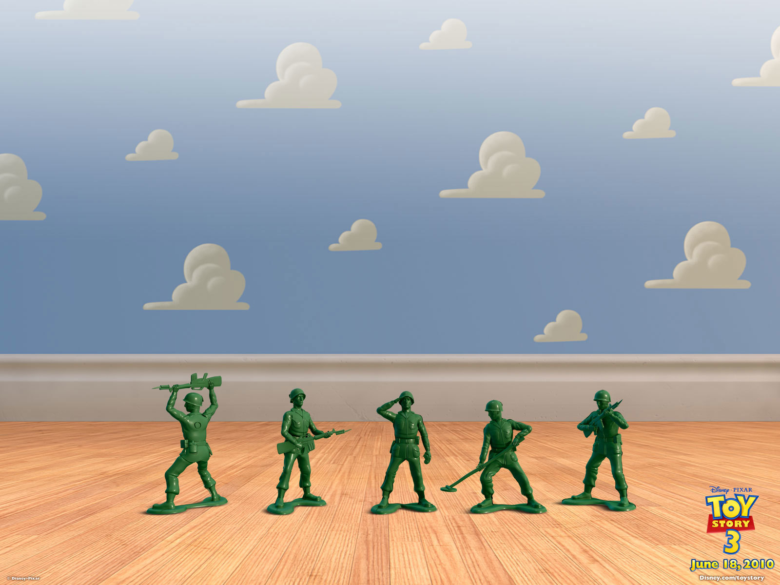 Army Men Toy Story HD Wallpaper