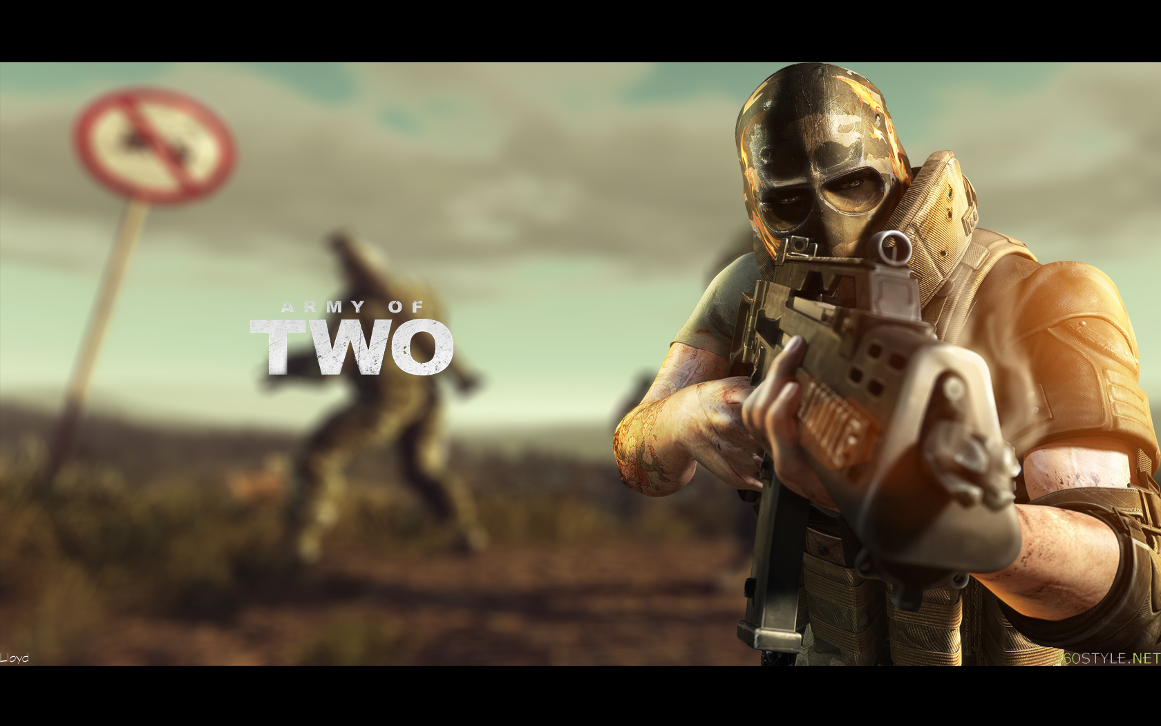 Army of two by HD Wallpaper