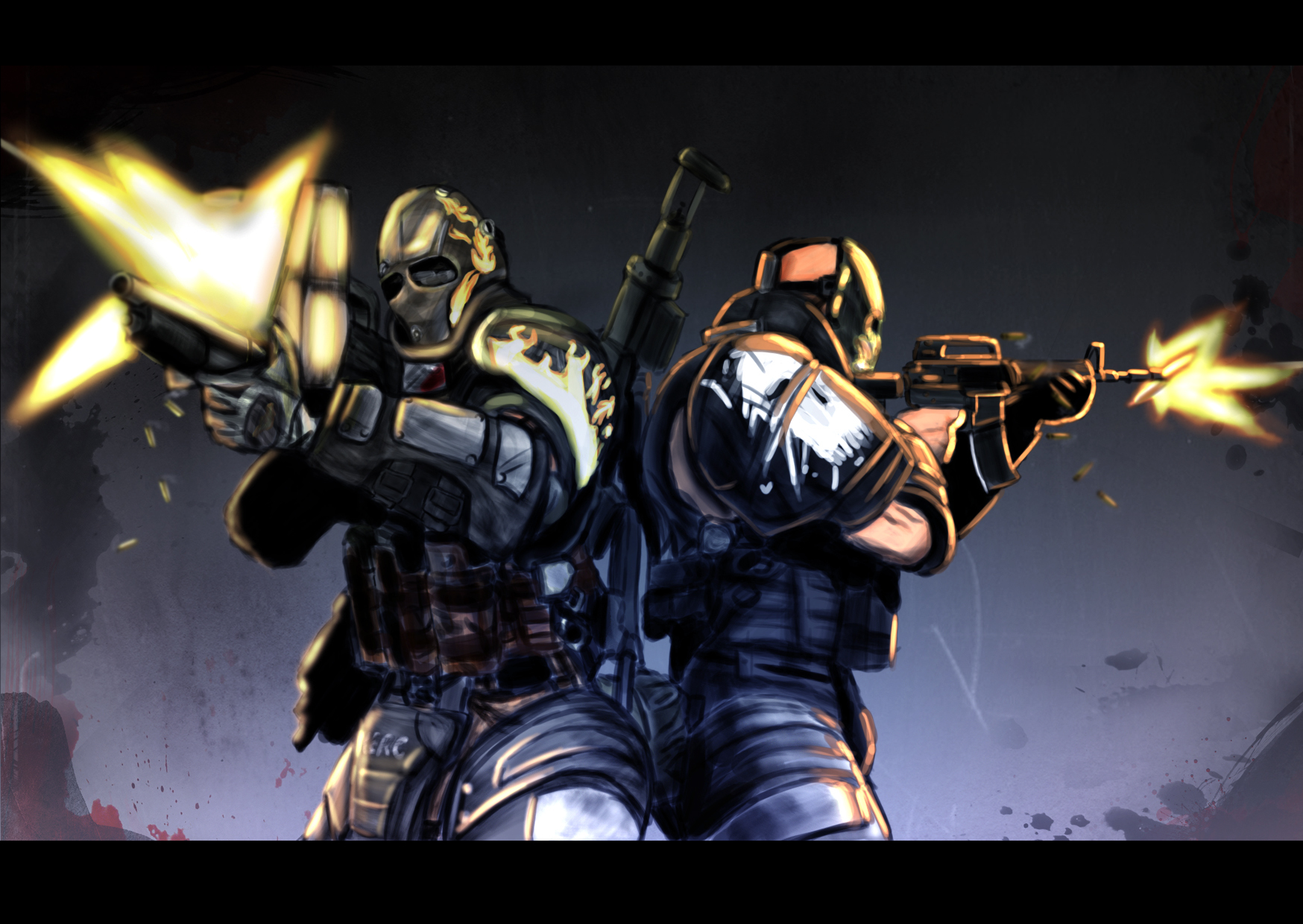 Army of two military HD Wallpaper