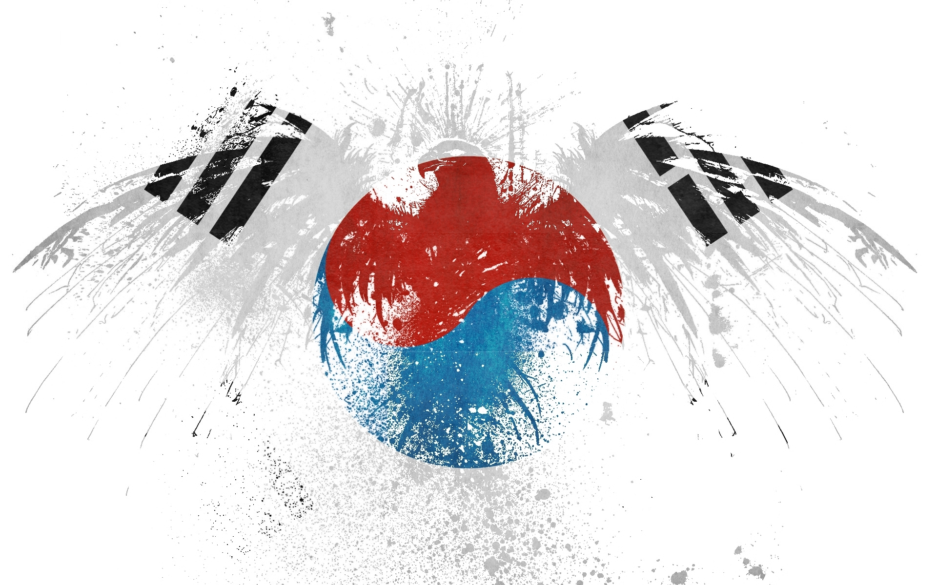 Art paint hawk Korea HD Wallpaper