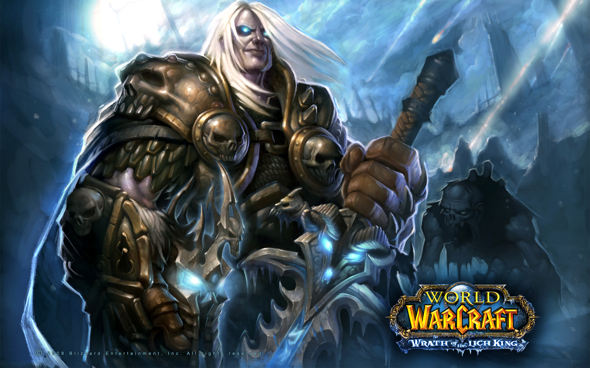 arthas warcraft video Character