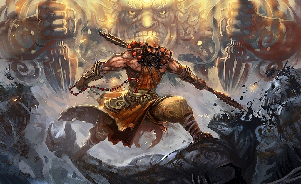 artwork diablo iii monk HD Wallpaper