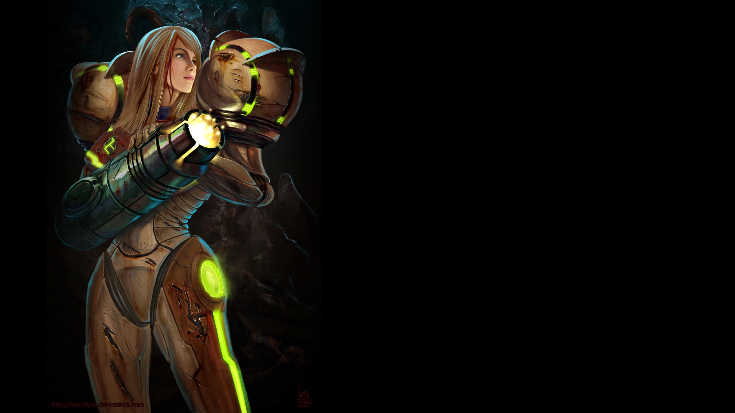 artwork fan art metroid HD Wallpaper
