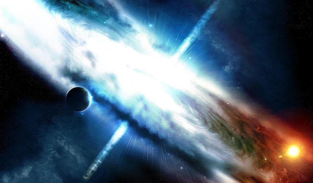 artwork quasar Space Greg HD Wallpaper