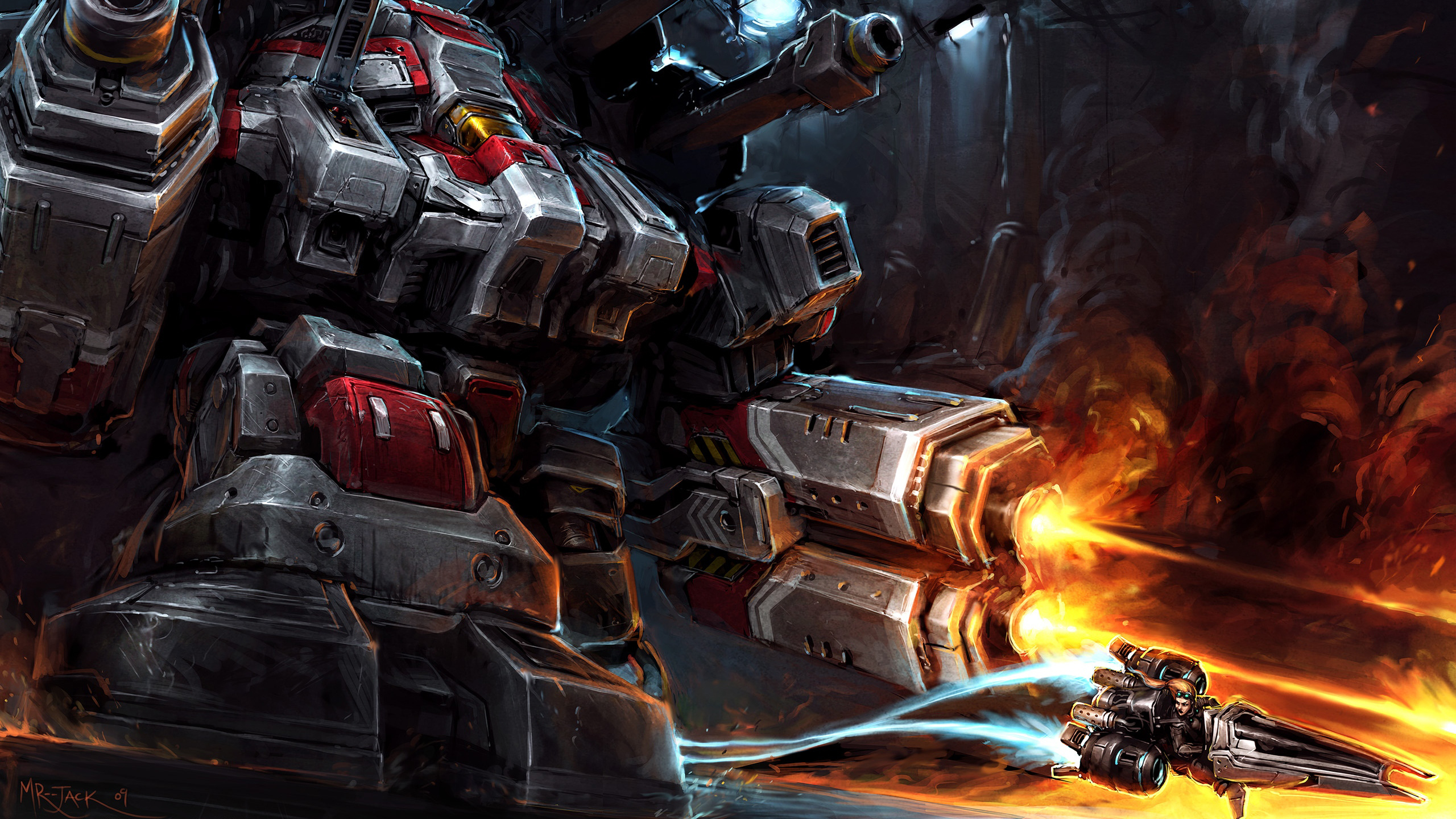 artwork starcraft ii vulture HD Wallpaper