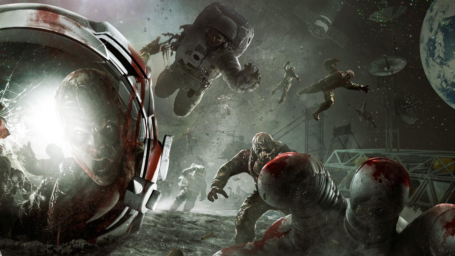 artwork zombies video games HD Wallpaper