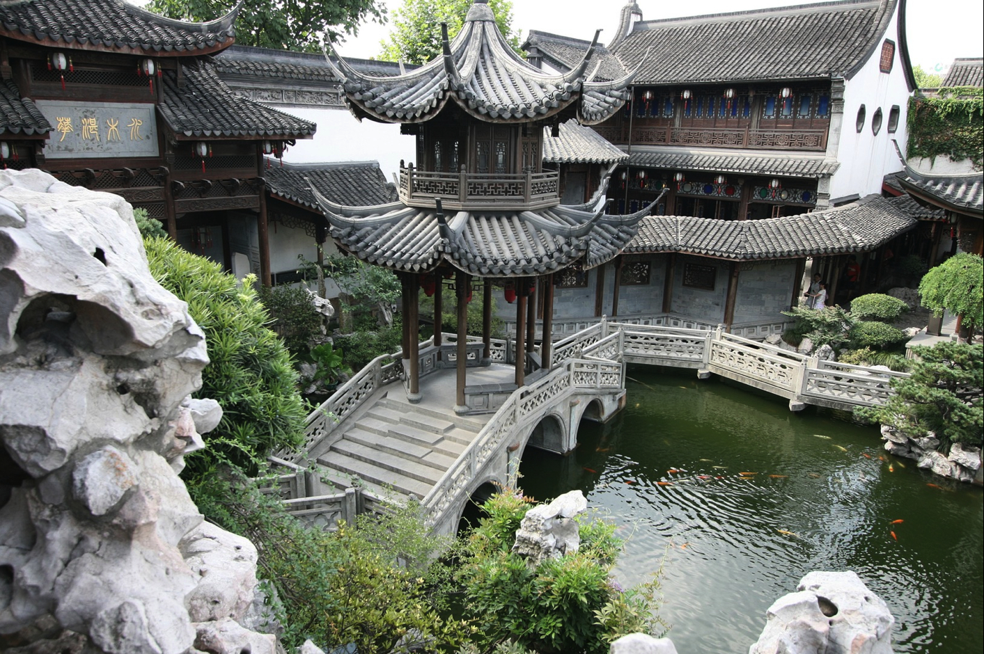 Asia asian architecture HD Wallpaper