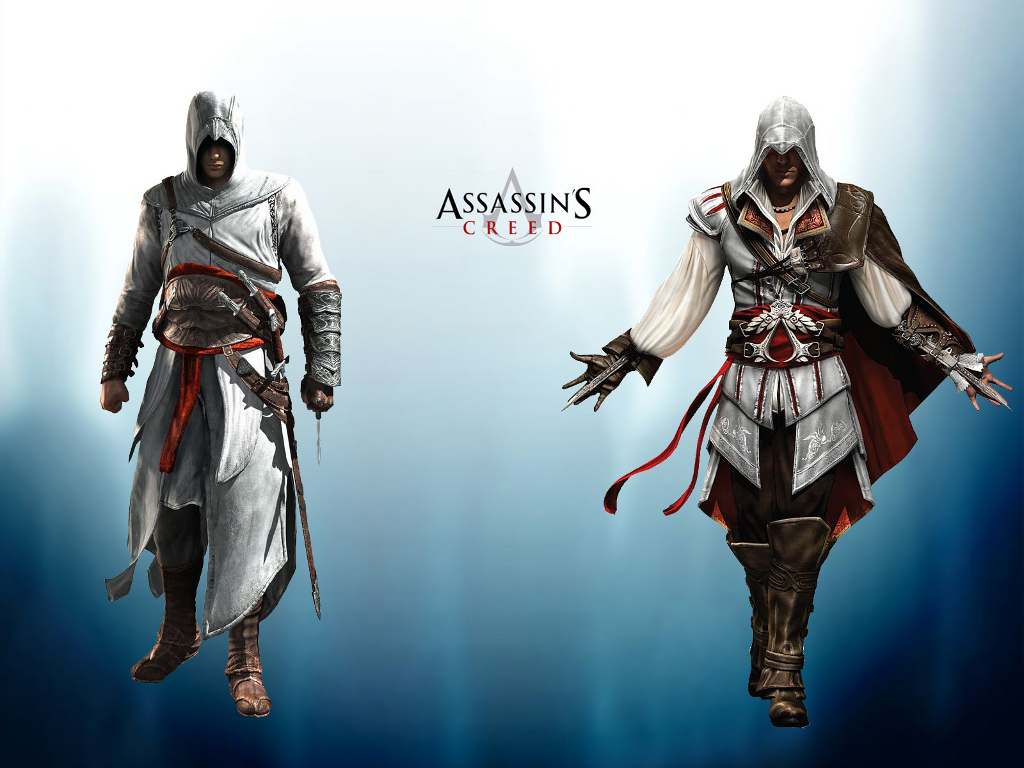 assassins creed Altair Ezio HD Wallpaper