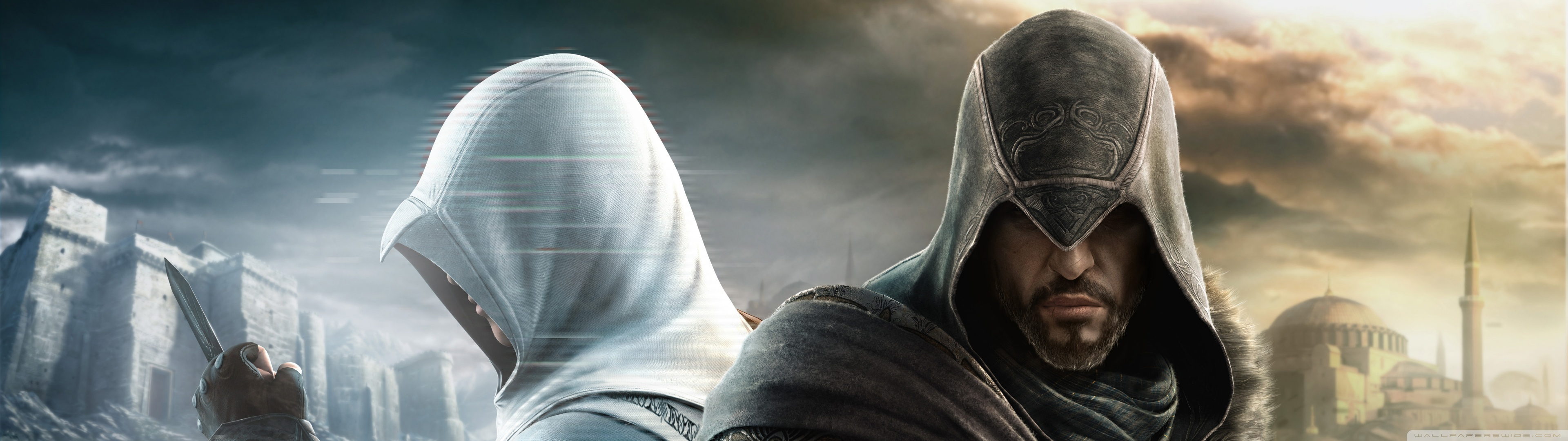 assassins creed multiscreen HD Wallpaper