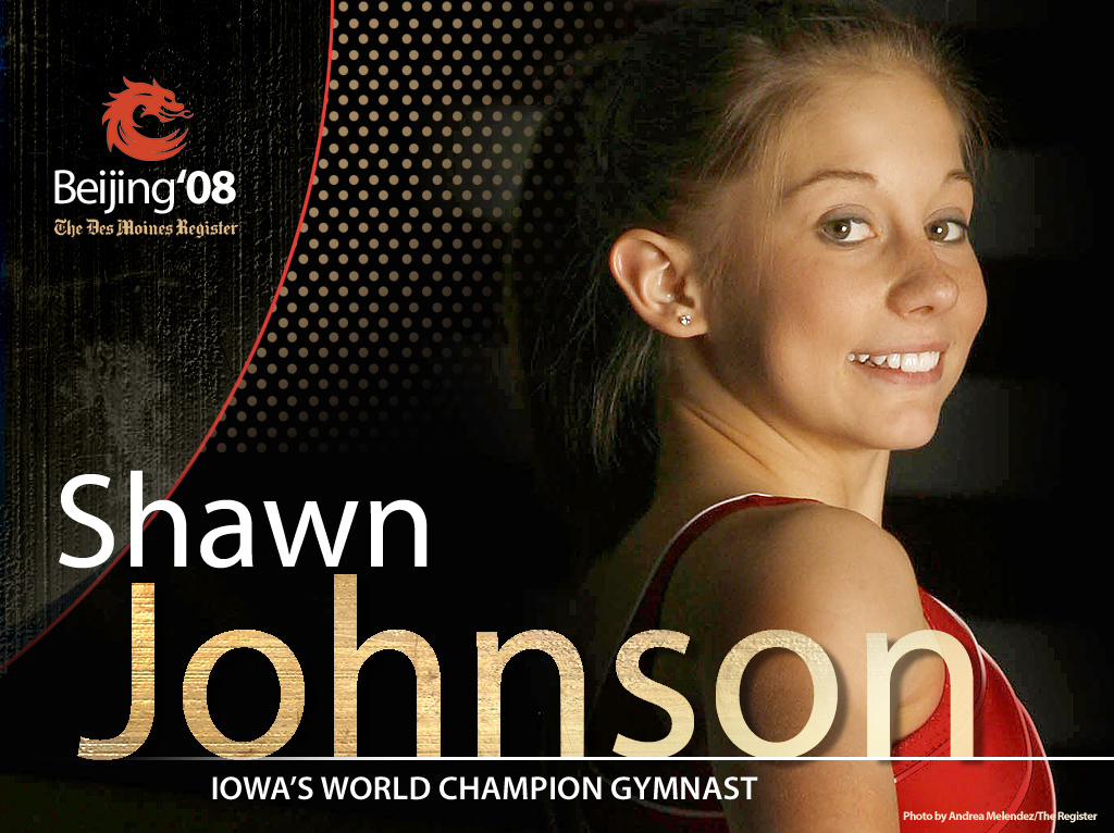 athlete shawn johnson Sport HD Wallpaper