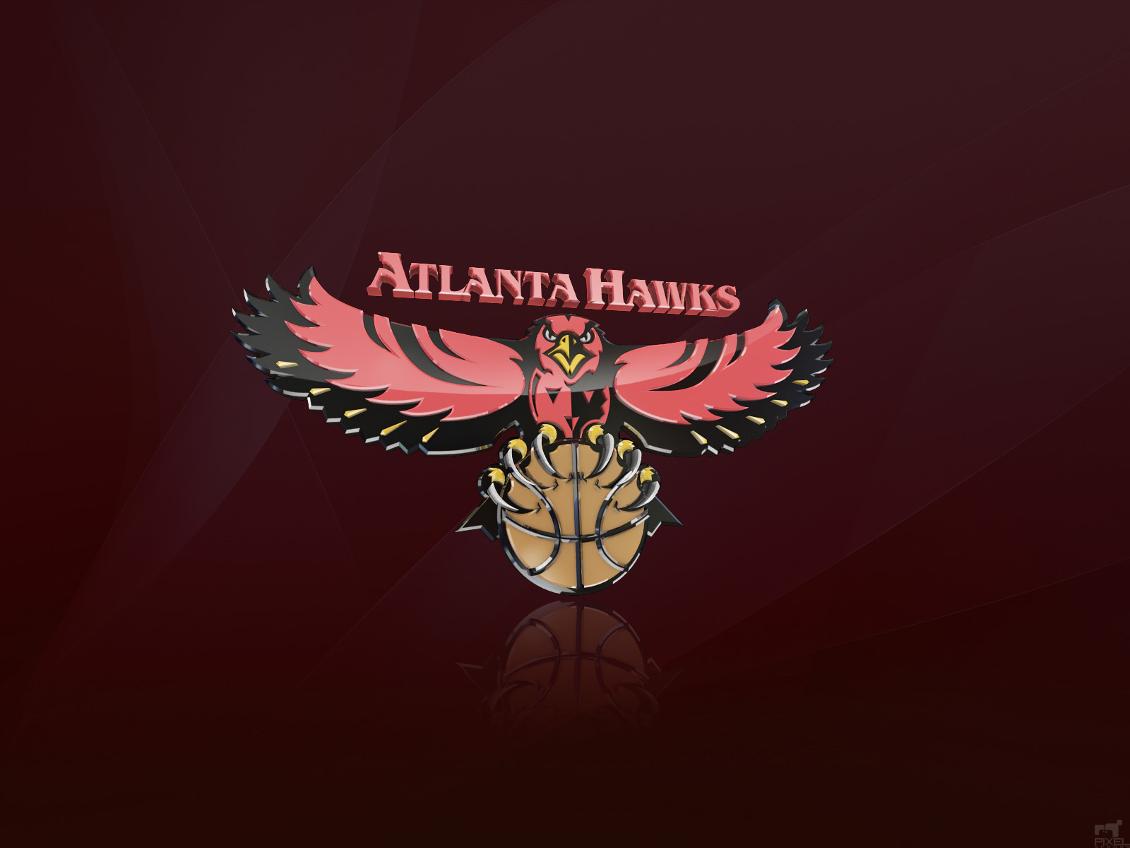 atlanta hawks logo nba HD Wallpaper