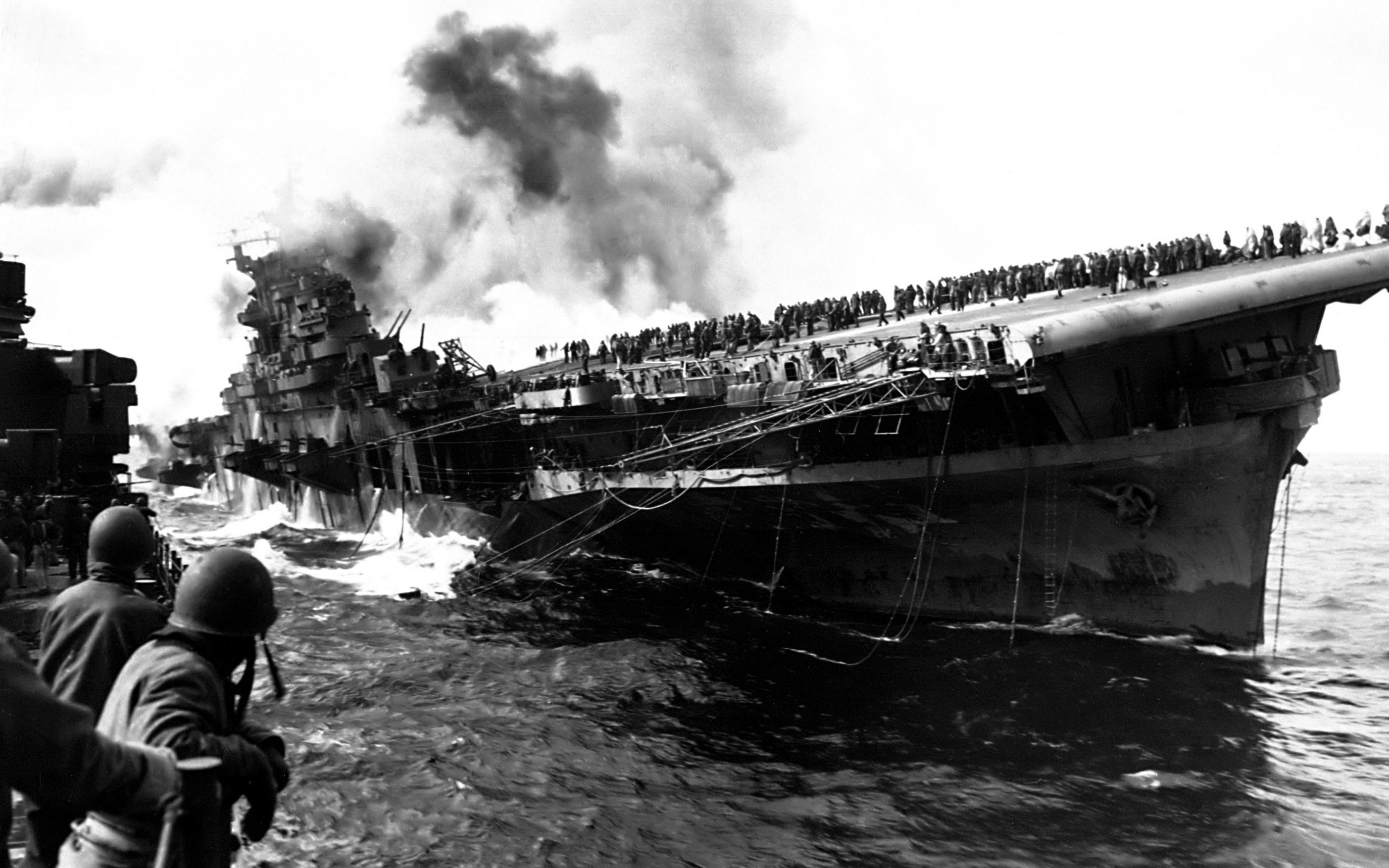 attack on Carrier uss