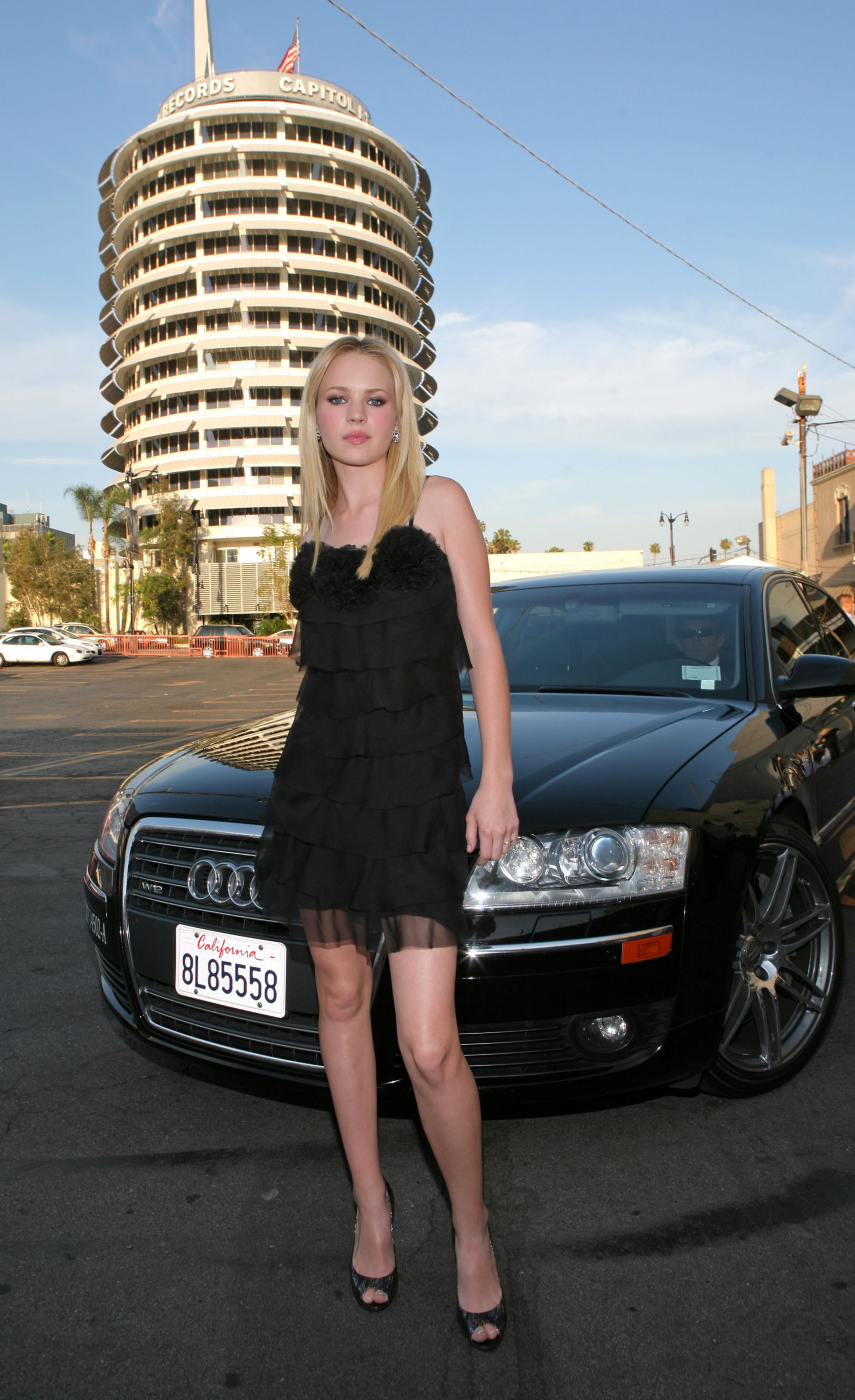 Audi blondes woman dress HD Wallpaper