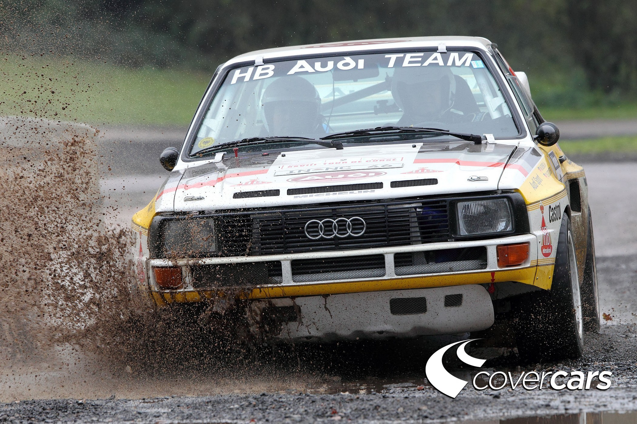 Audi rally racing Audi HD Wallpaper