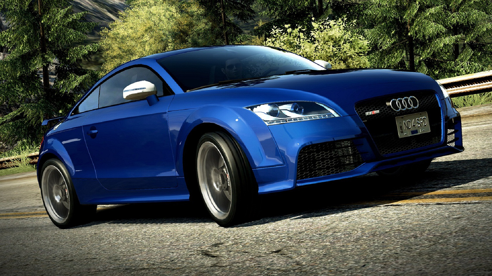 Audi TT RS need HD Wallpaper