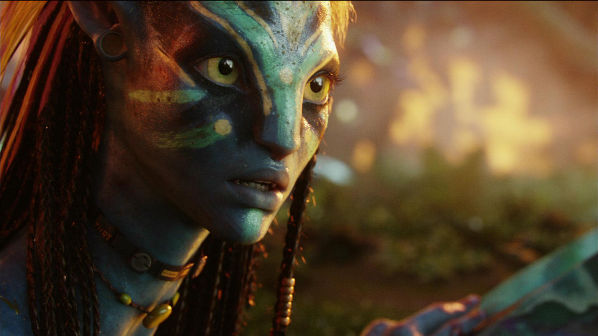 Avatar blurred background Movie HD Wallpaper