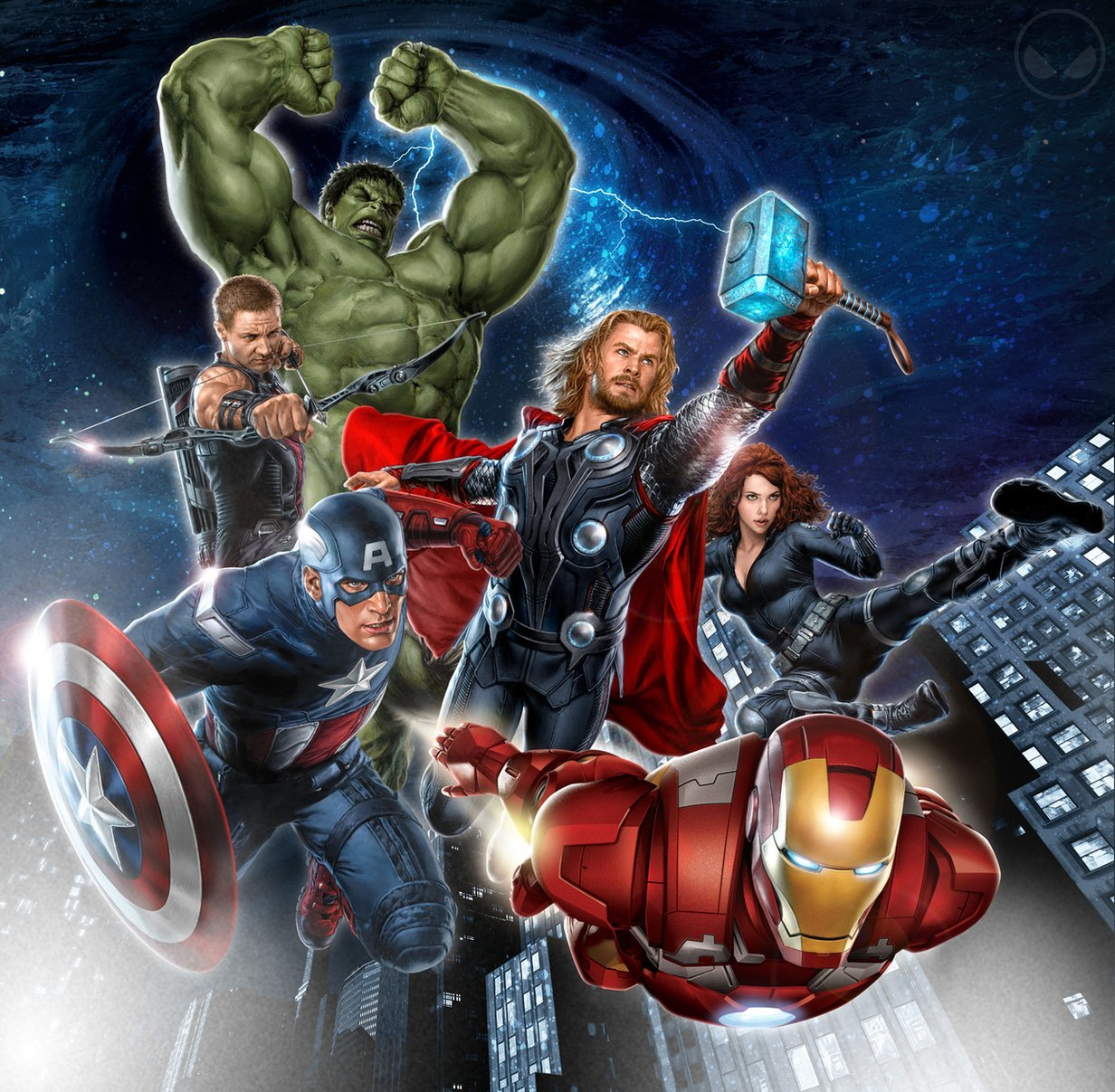 Avengers comics artwork marvel HD Wallpaper