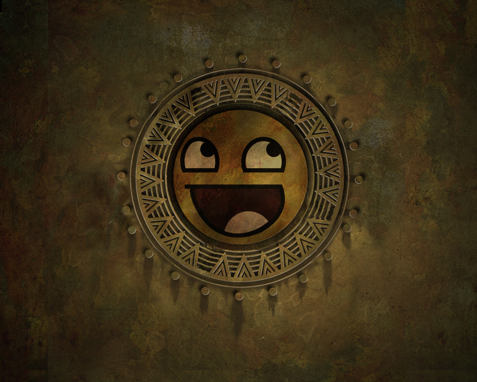 awesome face fun HD Wallpaper