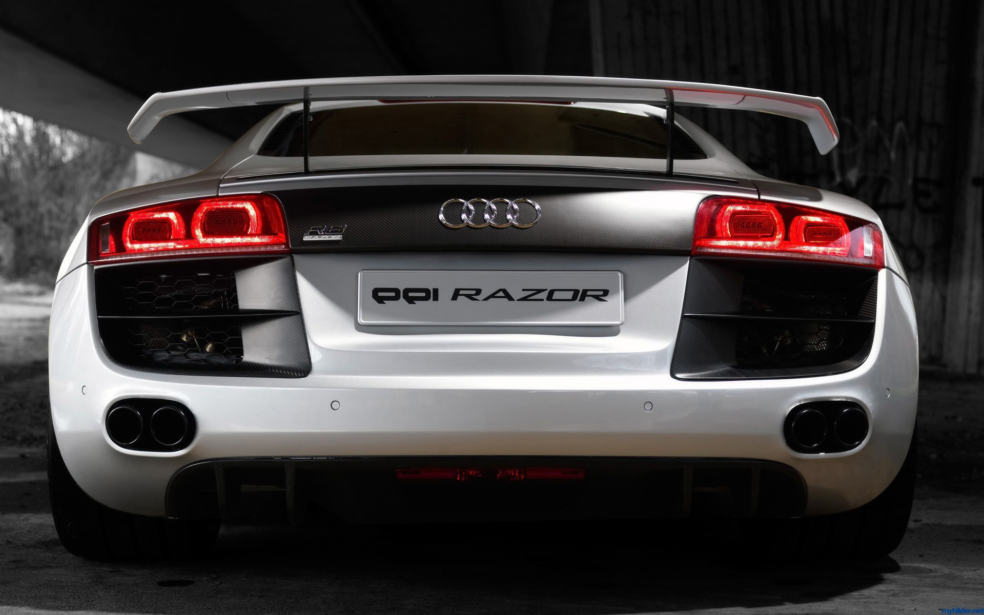 back cars Audi audi HD Wallpaper