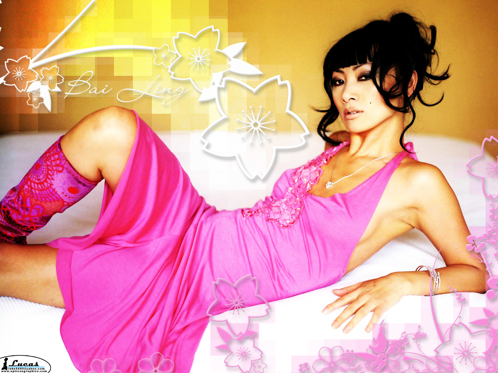 Bai ling Celebrity HD Wallpaper