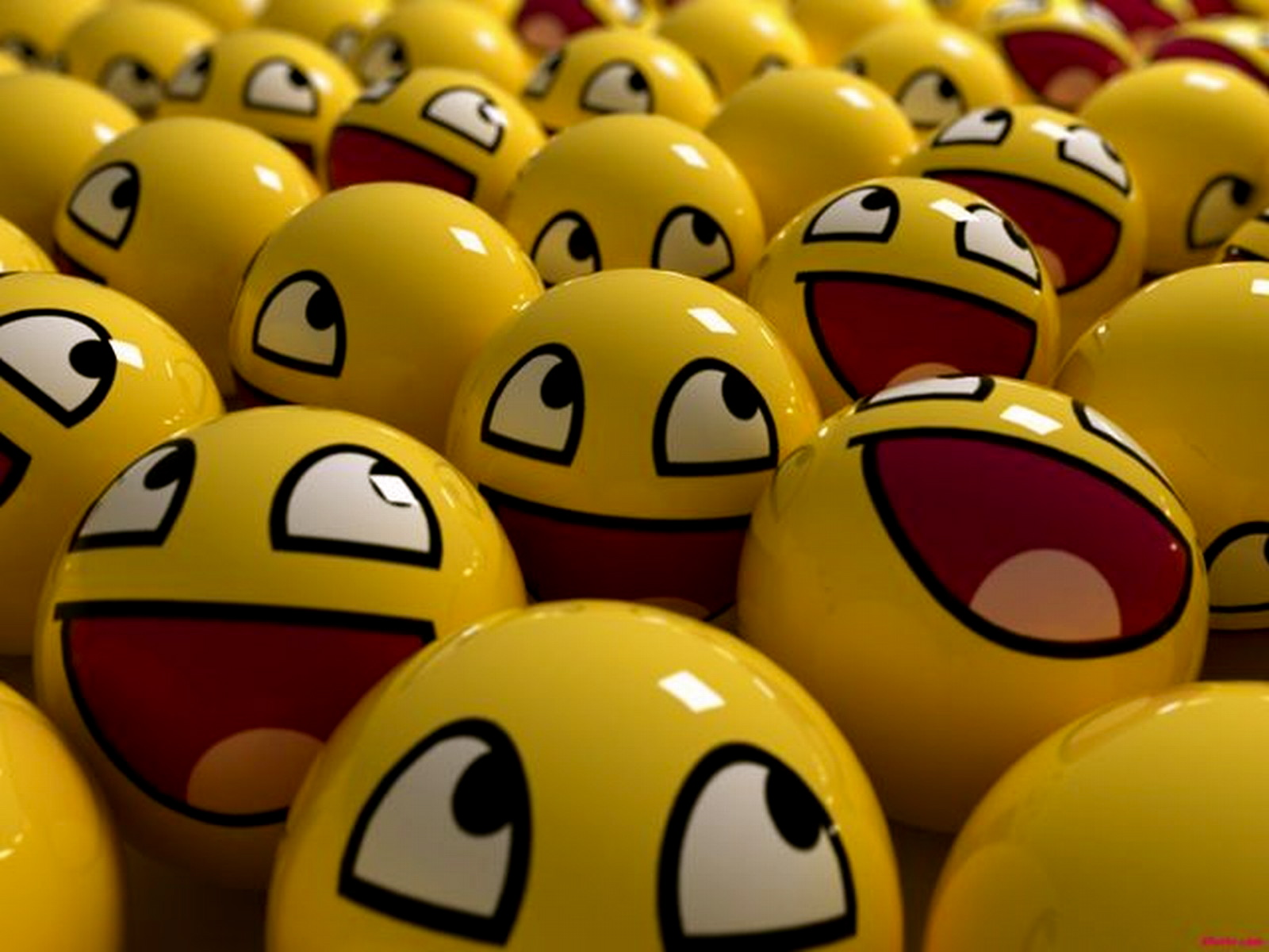 balls Awesome Face HD Wallpaper