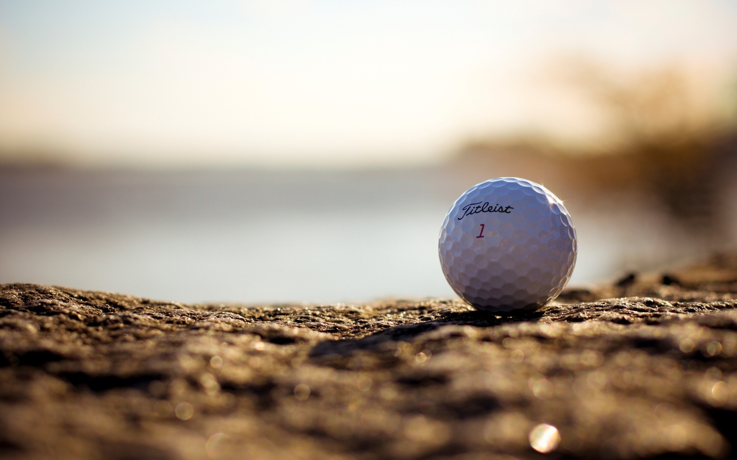 balls golf macro HD Wallpaper
