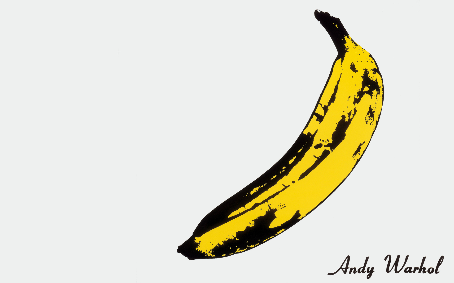 bananas Andy Warhol pop HD Wallpaper