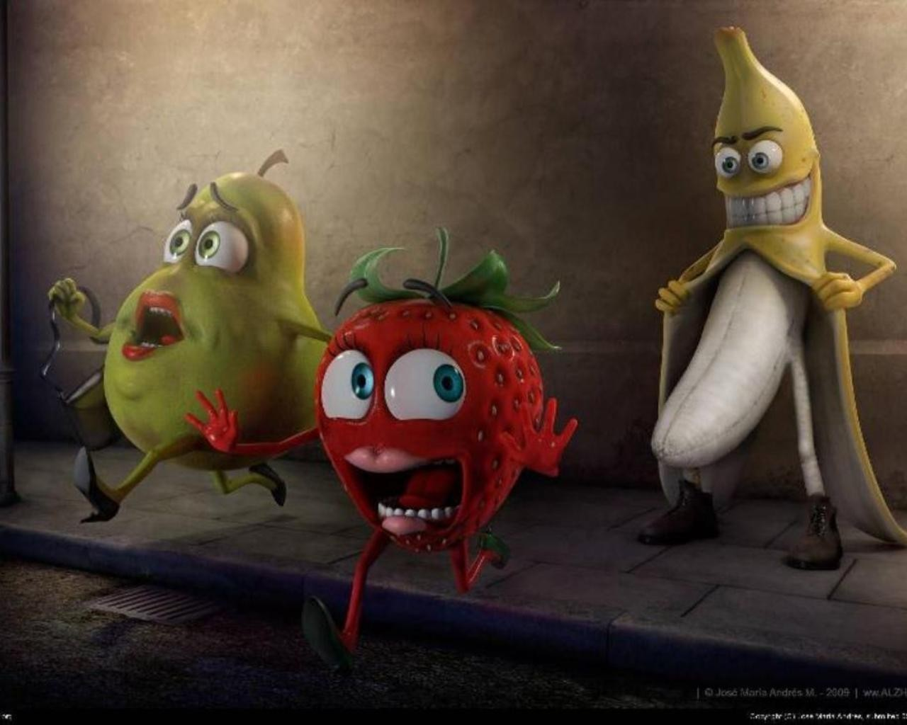 bananas animation HD Wallpaper